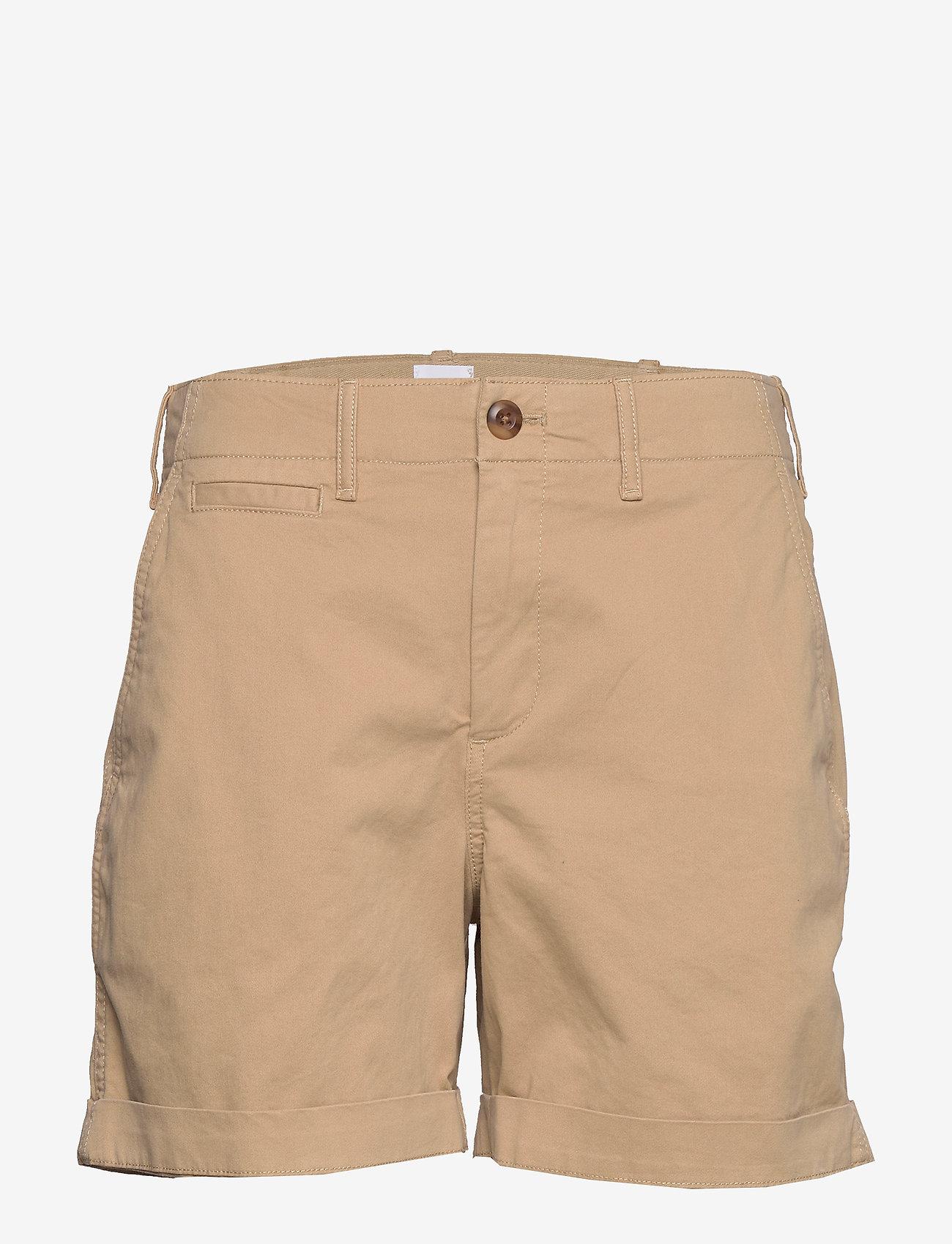 """GAP - 5"""" High Rise Khaki Shorts - casual shortsit - mojave - 0"""
