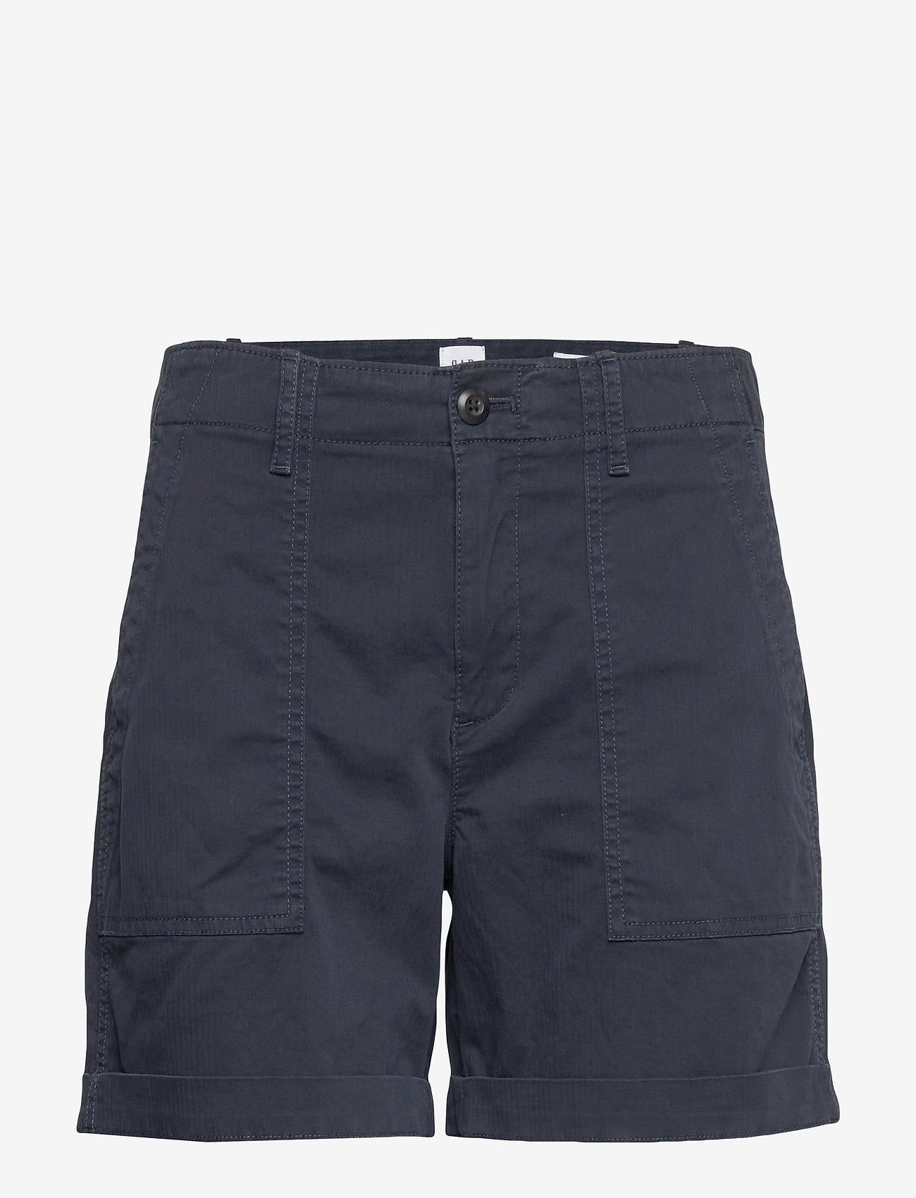 GAP - Utility Khaki Short - chino-shortsit - true indigo 2 - 0