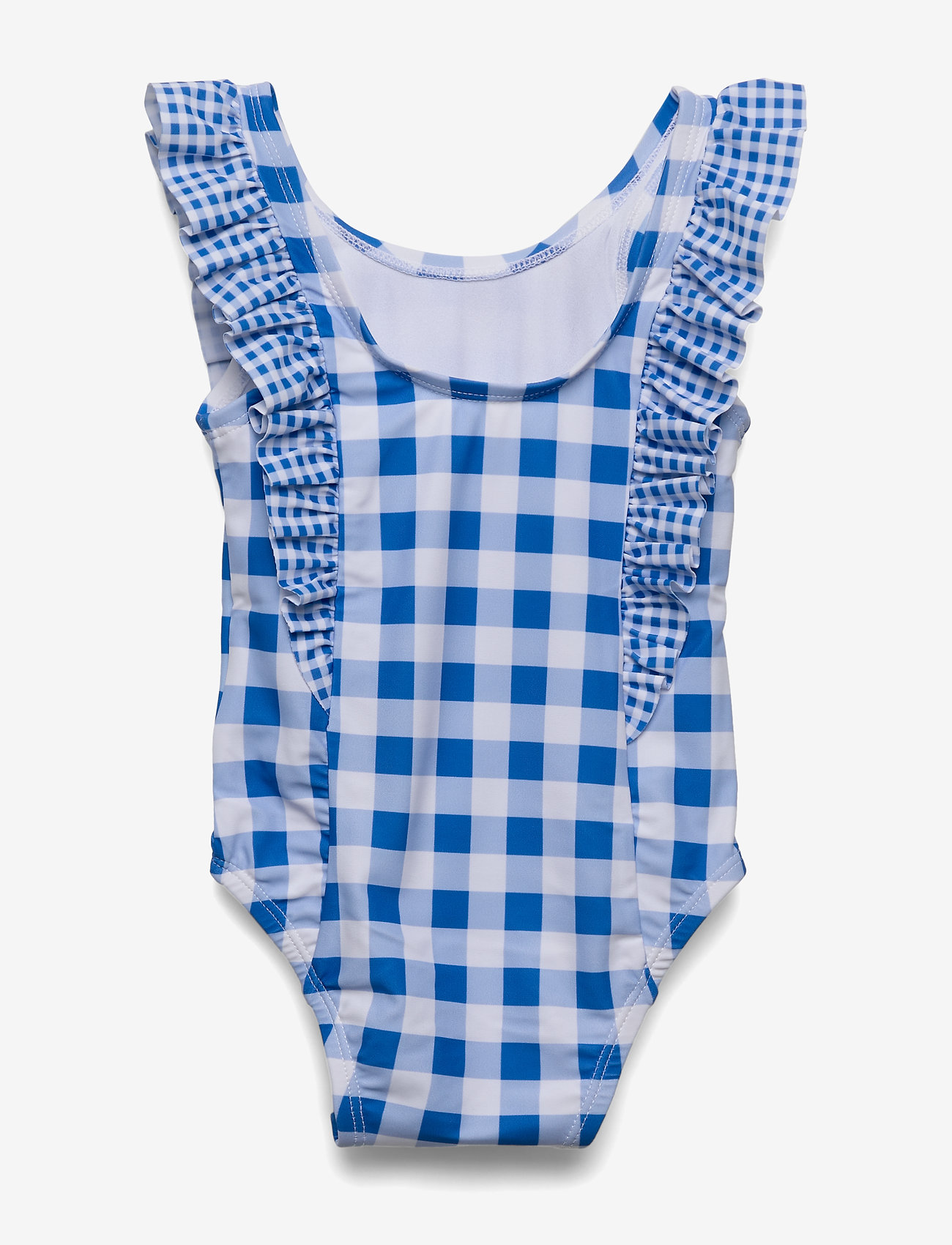 Baby Gingham Ruffle Swim One-piece (Belle Blue) (12 €) - GAP k8jxS