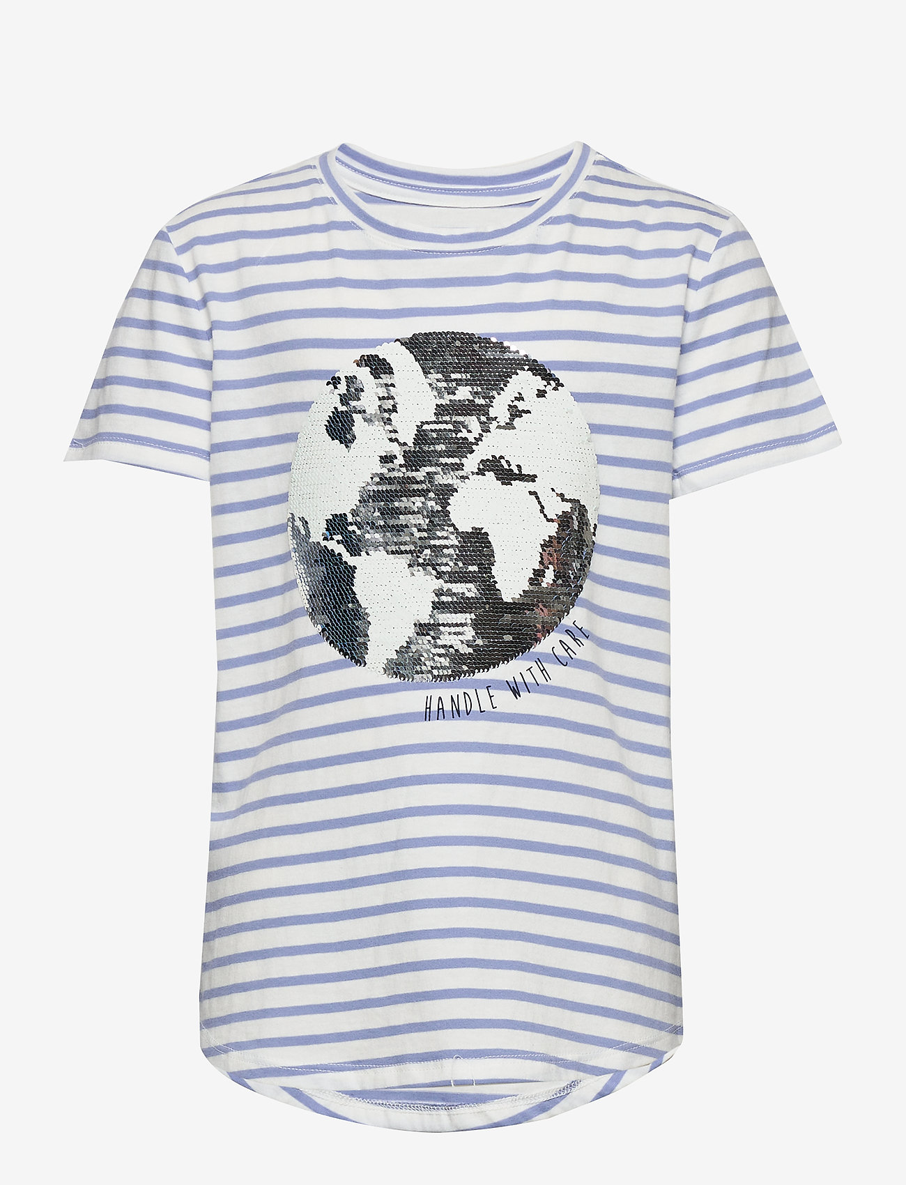 Gap Kids Flippy Interactive Graphic T-shirt - Överdelar Blue Stripe Combo B
