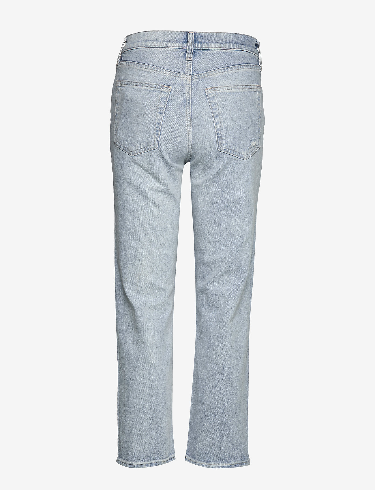 High Rise Distressed Cheeky Straight Jeans (Light Indigo Destroy) (40.50 €) - GAP NfjPf