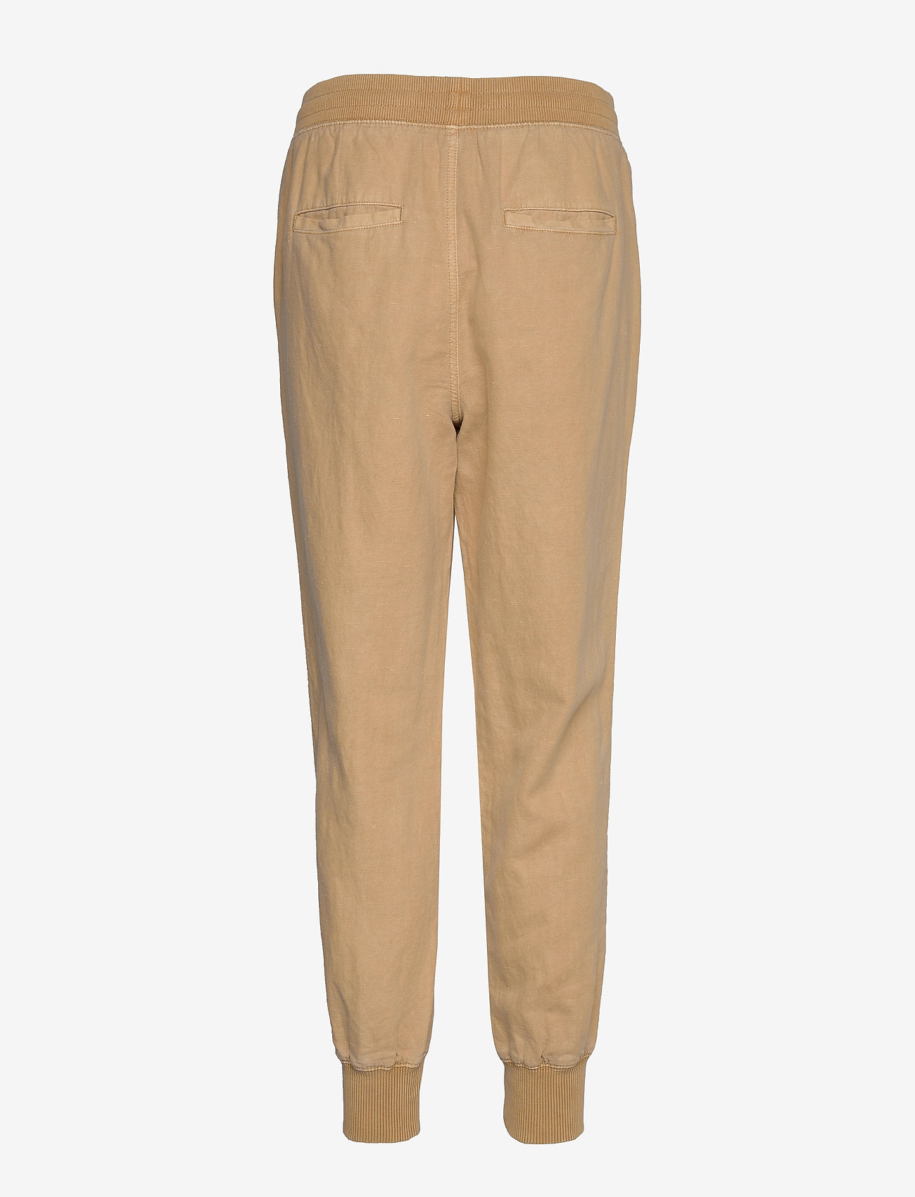 GAP - Utility Joggers in Linen-Cotton - verryttelyhousut - new sand - 1