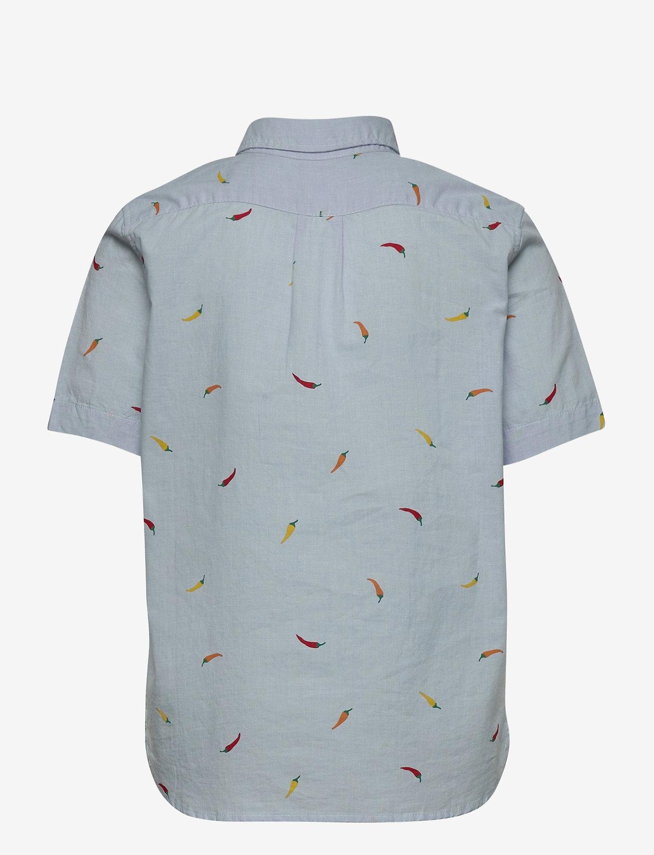 GAP - Kids Tropical Button-Down Shirt - overhemden - blue print stripe - 1