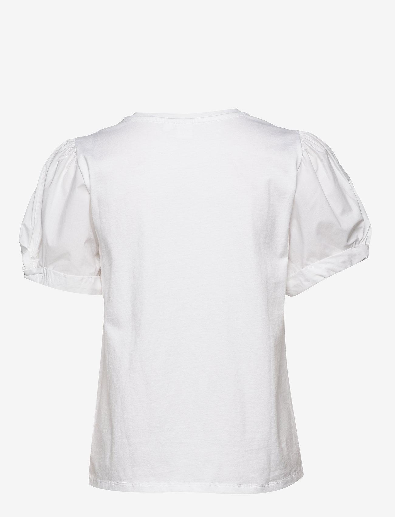 GAP - Puff Sleeve T-Shirt - t-shirts - white000 - 1