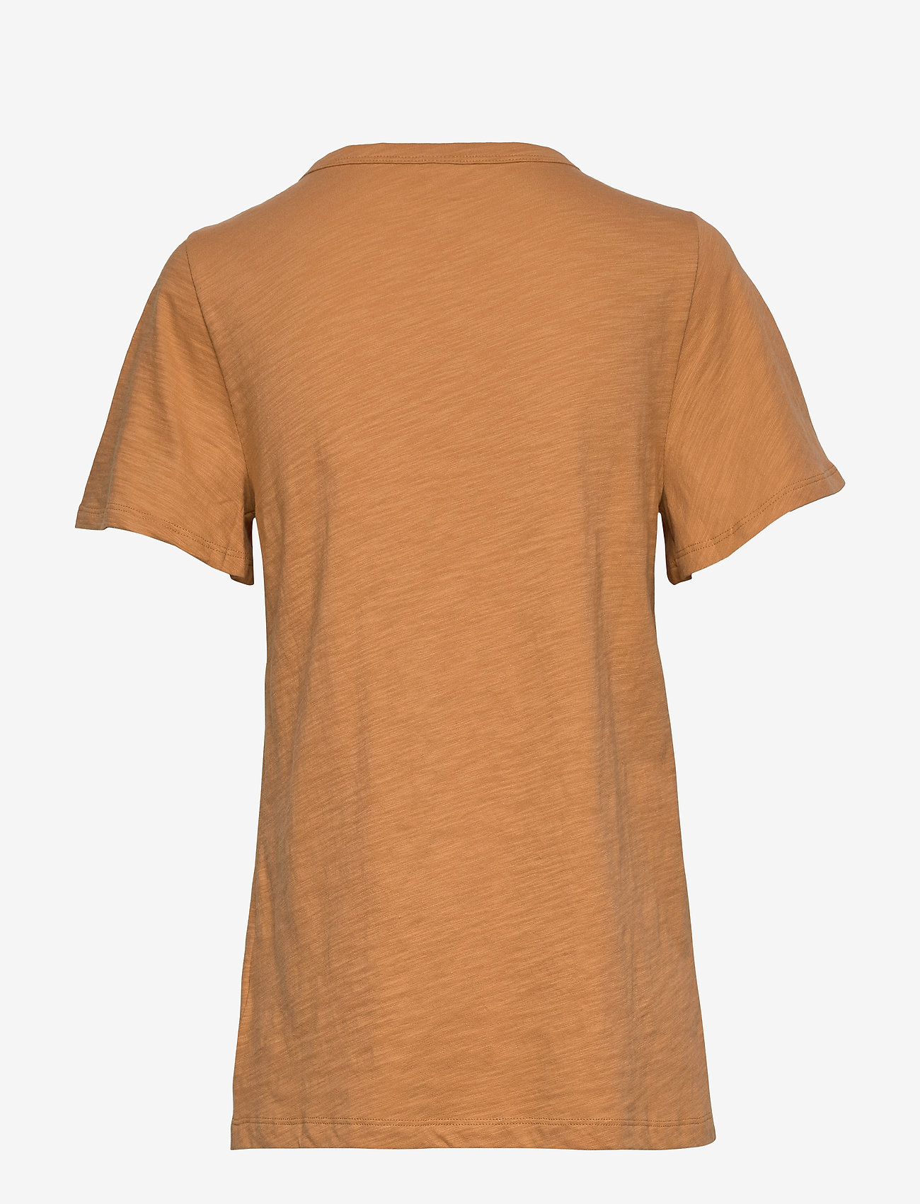 Slub Flutter Sleeve T-shirt (Tumeric 374) - GAP Srgy0p