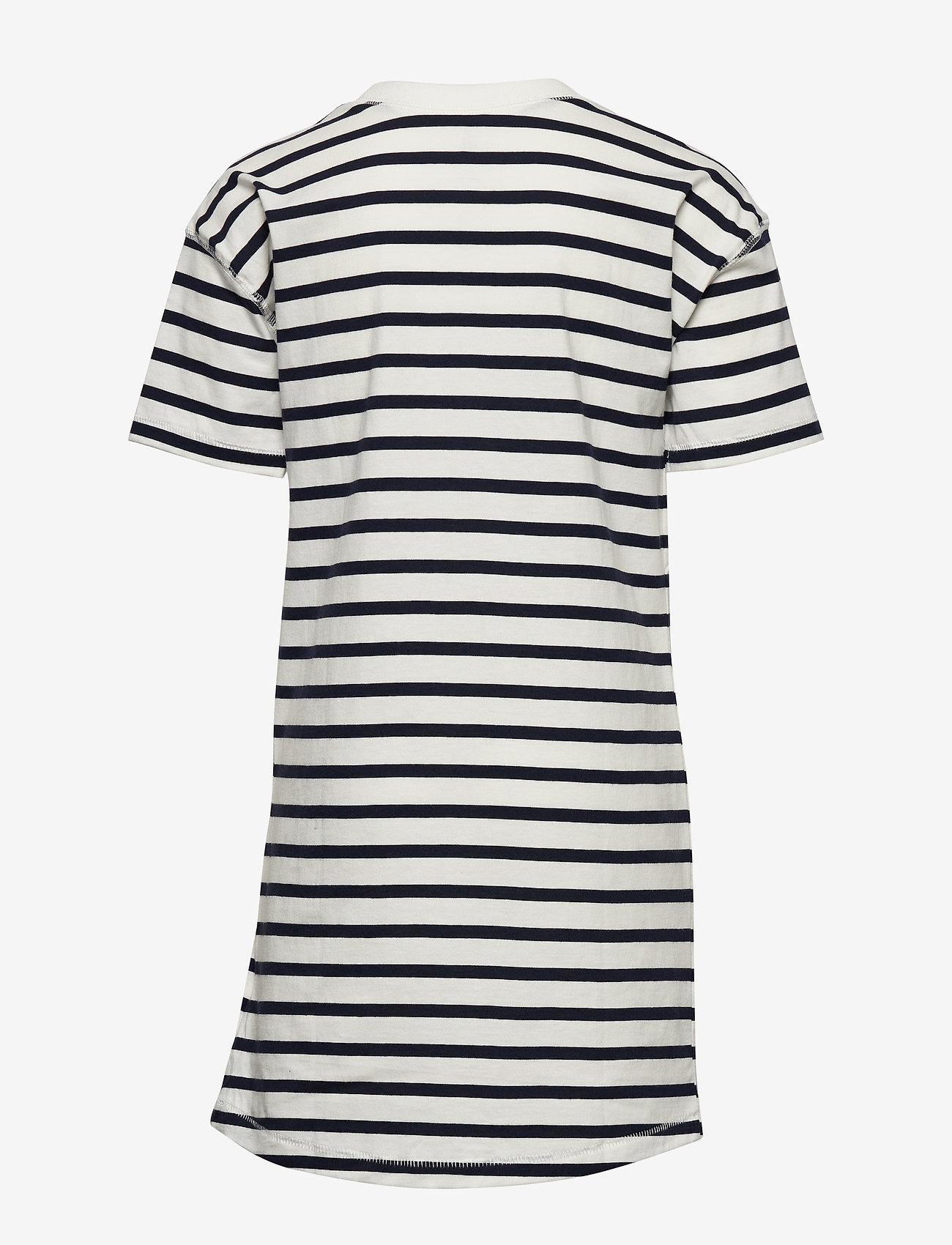 GAP - FR ARCH DRS - kjoler - new off white stripe - 1