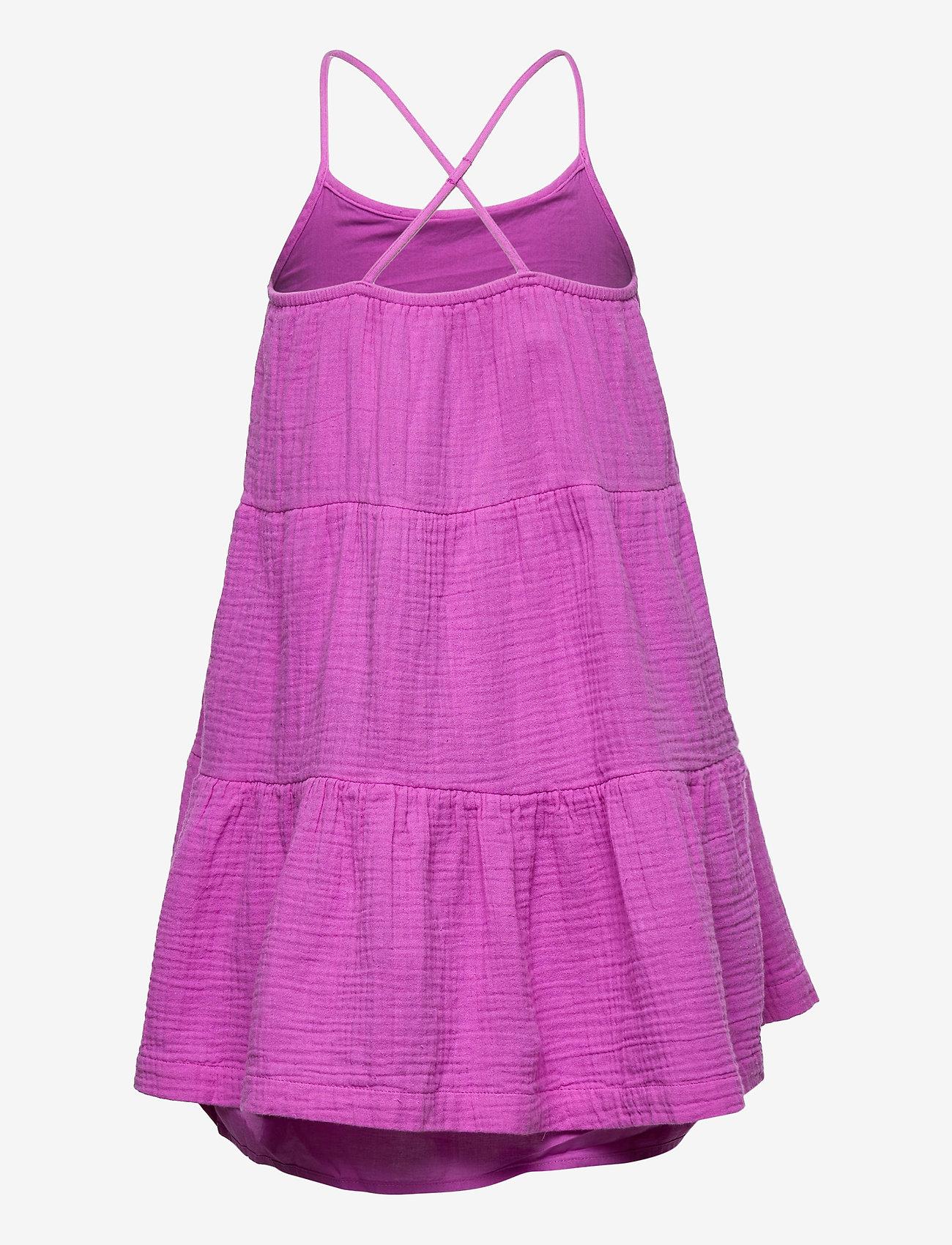 GAP - Kids Gauze 3-Tiered Dress - kjoler - budding lilac - 1