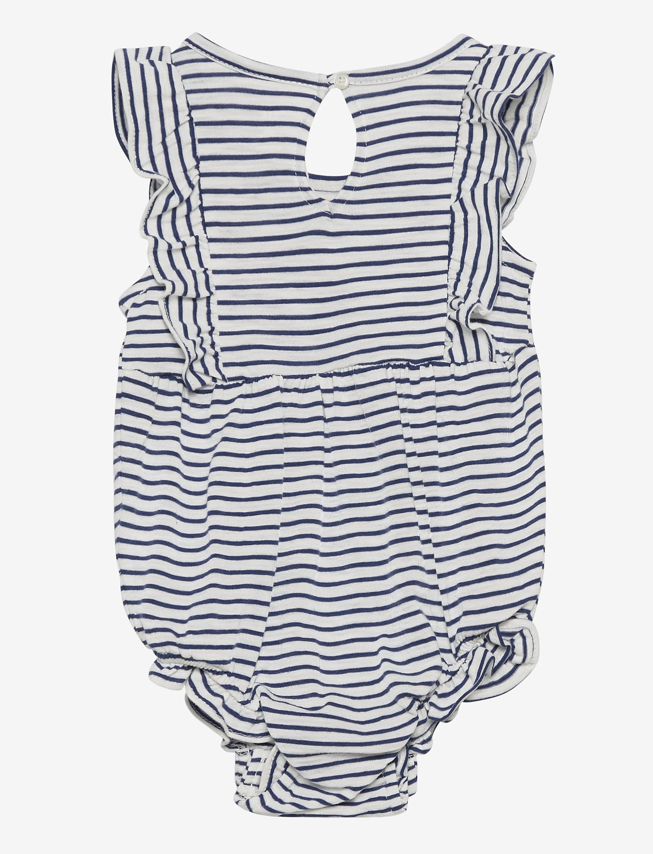 GAP - Baby Ruffle Bubble One-Piece - kurzärmelige - dutch blue - 1