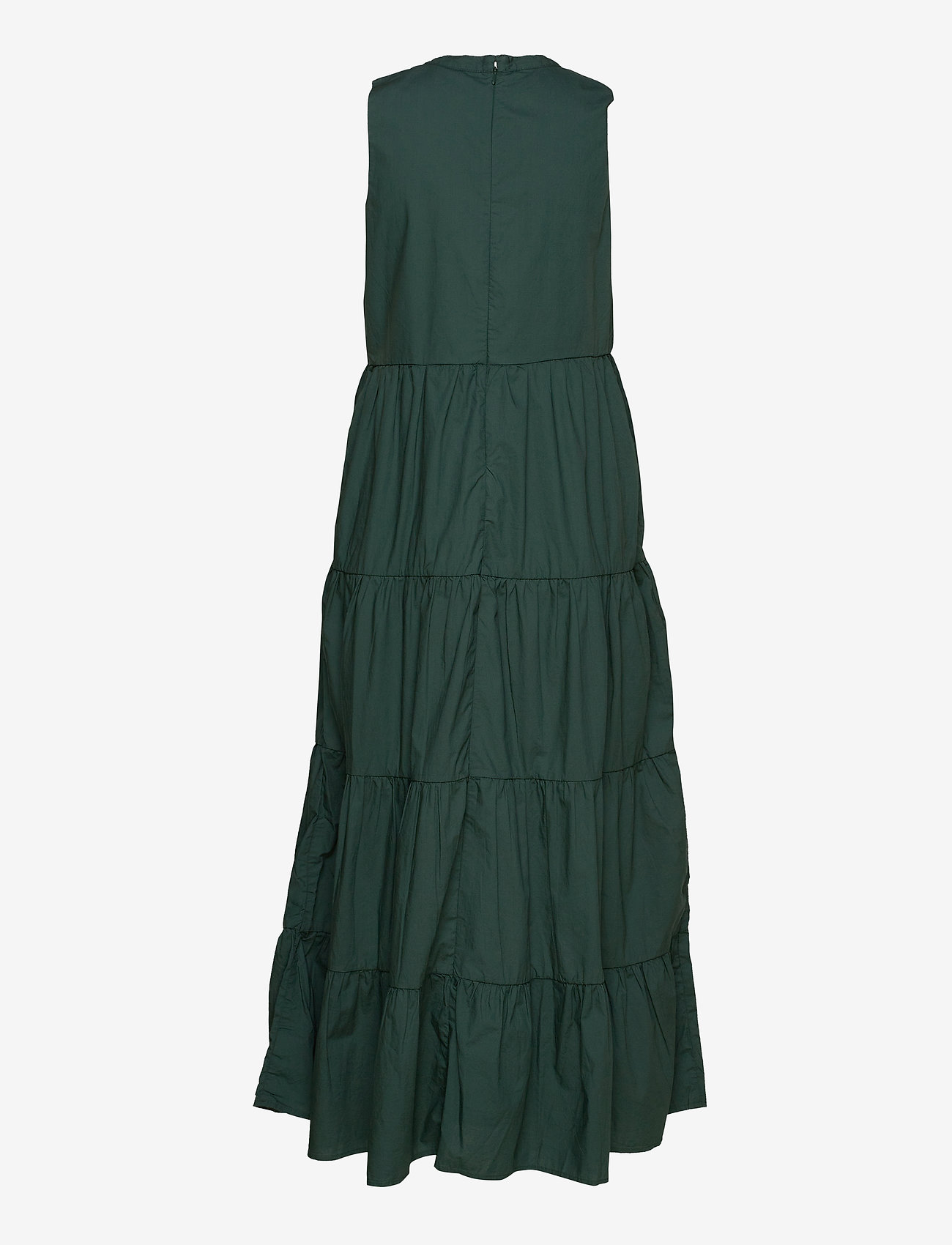 GAP - Sleeveless Tiered Maxi Dress - everyday dresses - olive 005 - 1