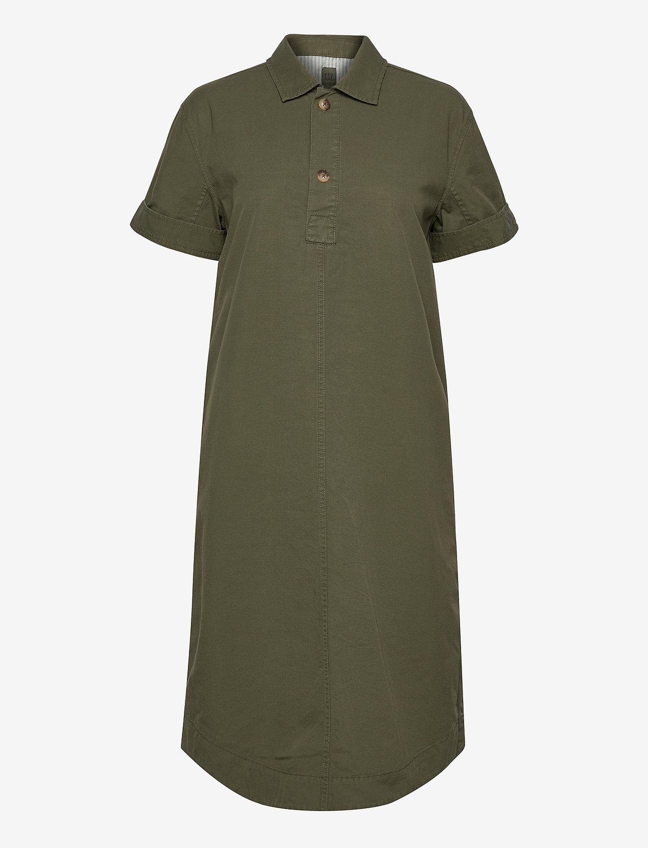 GAP - Midi Shirtdress - midi dresses - olive 005 - 0