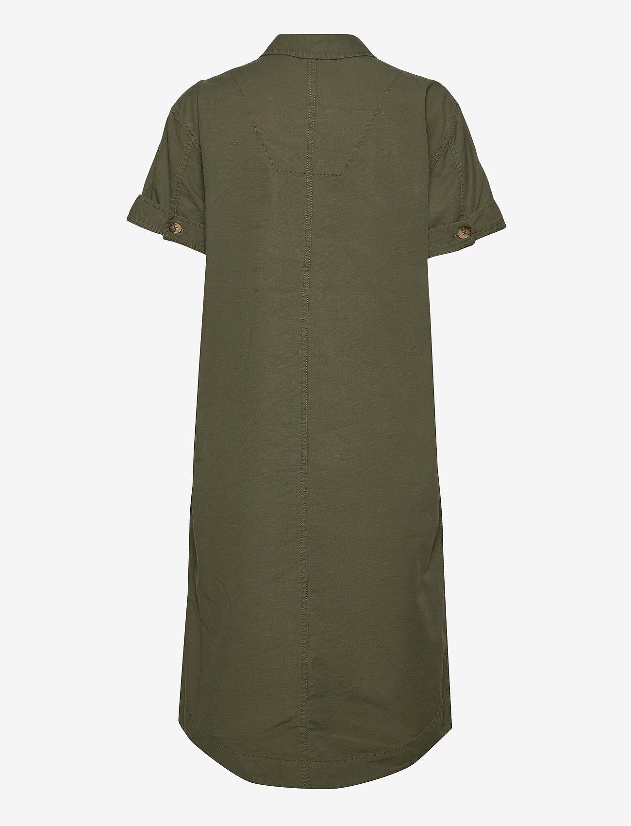 GAP - Midi Shirtdress - midi dresses - olive 005 - 1