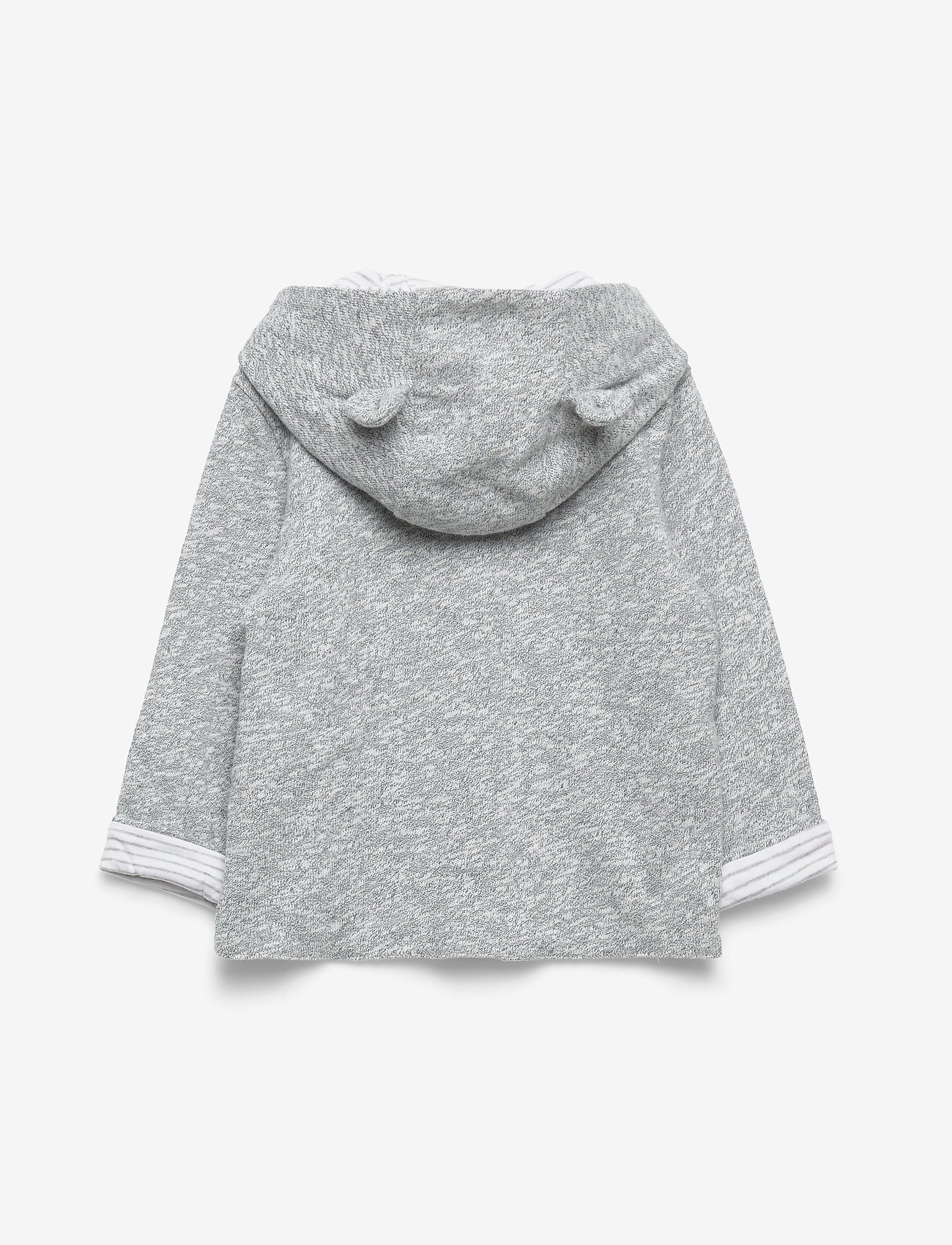 GAP - Baby Favorite Reversible Bear Hoodie Sweatshirt - kapuzenpullover - light grey marle - 1