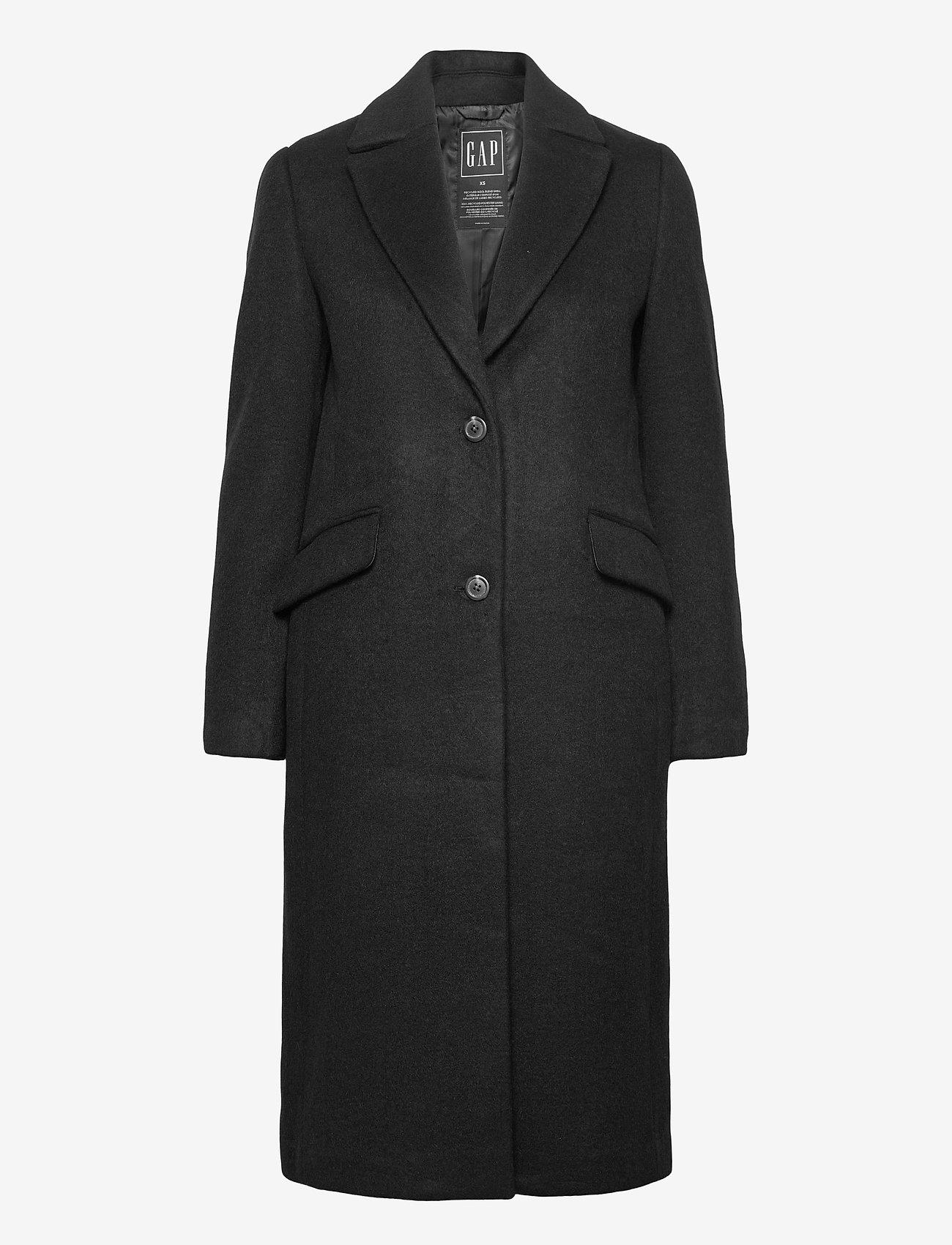 GAP - Wool Topcoat - trench coats - true black - 0