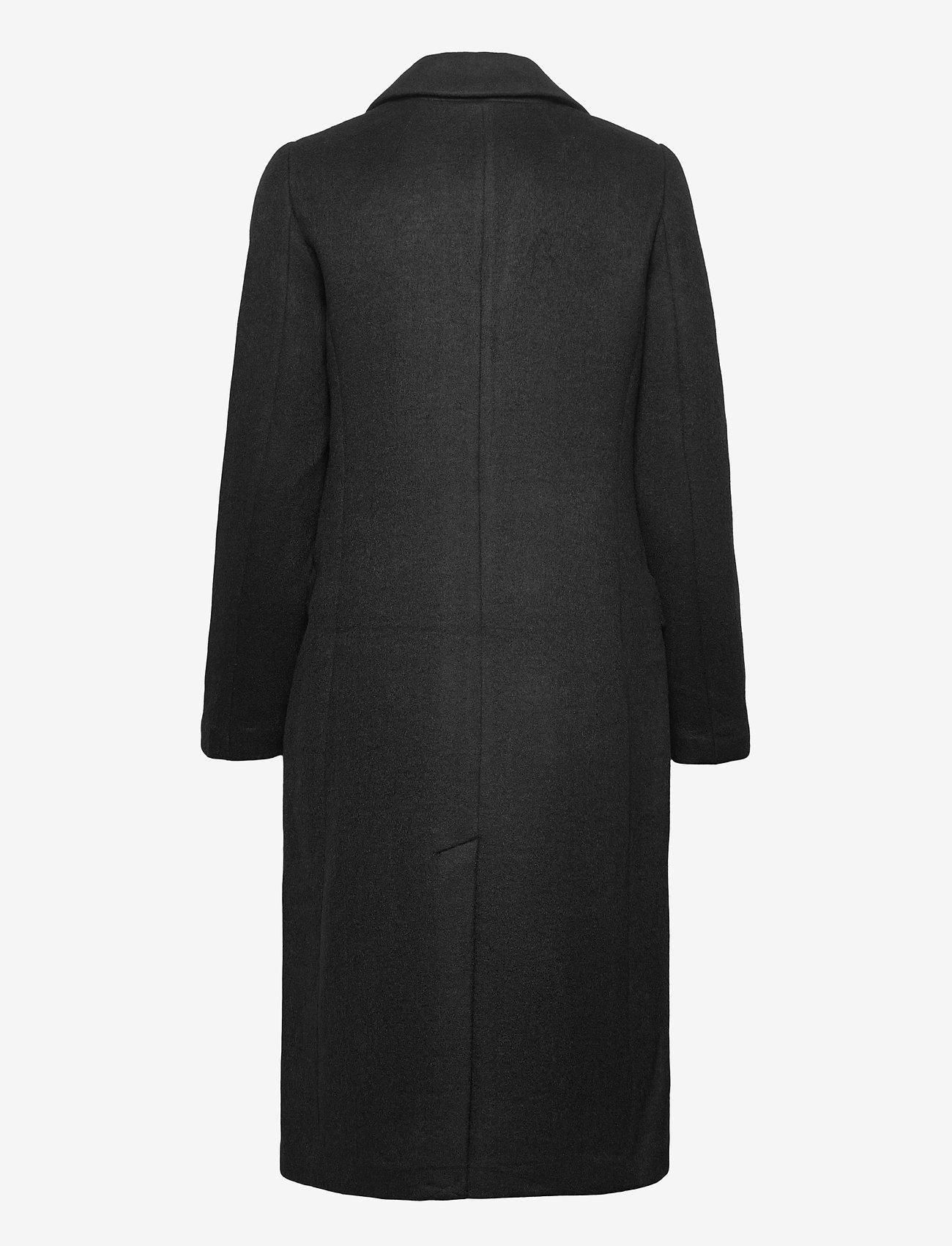 GAP - Wool Topcoat - trench coats - true black - 1