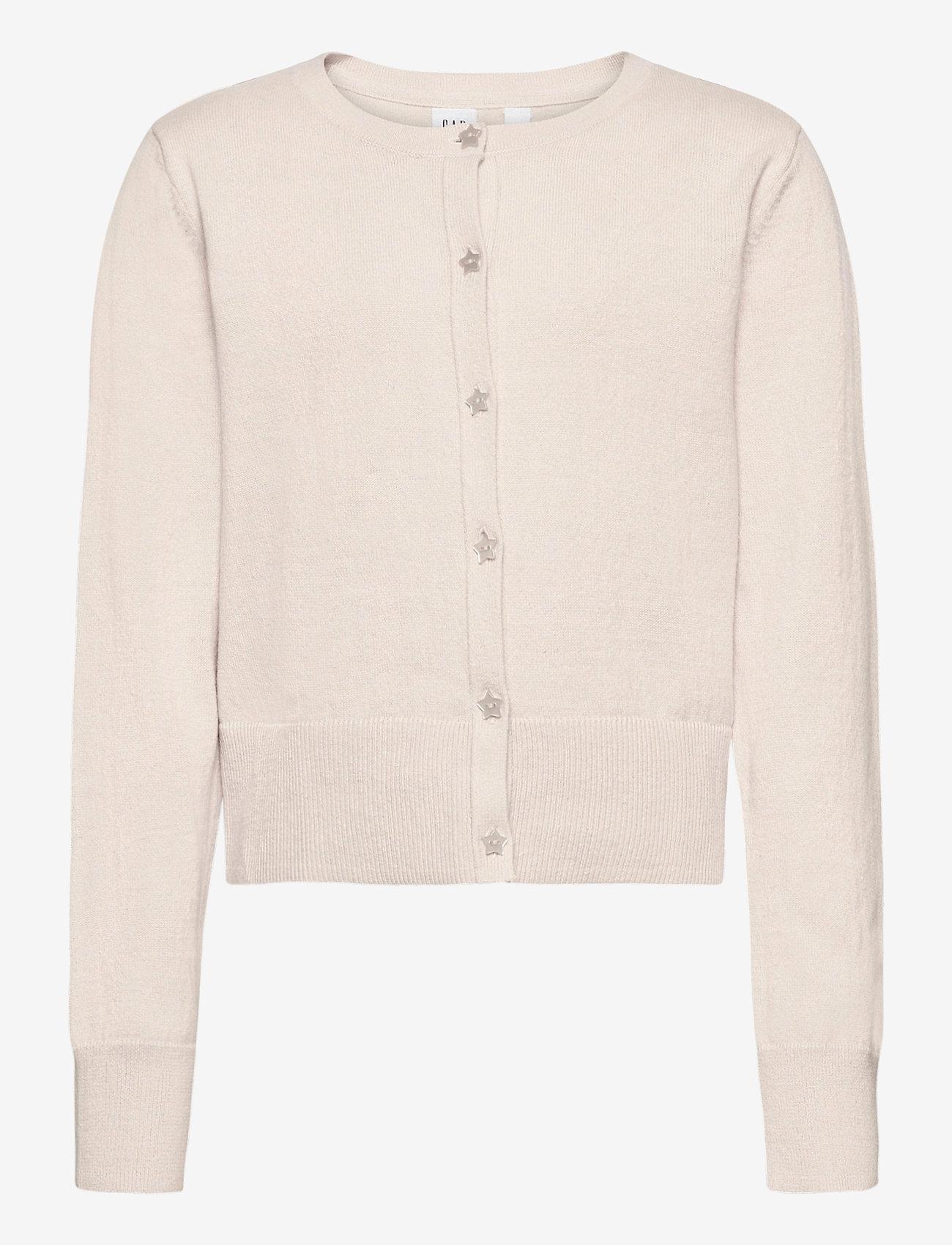 GAP - Kids Cardigan Sweater - gilets - soft ivory 203 - 0