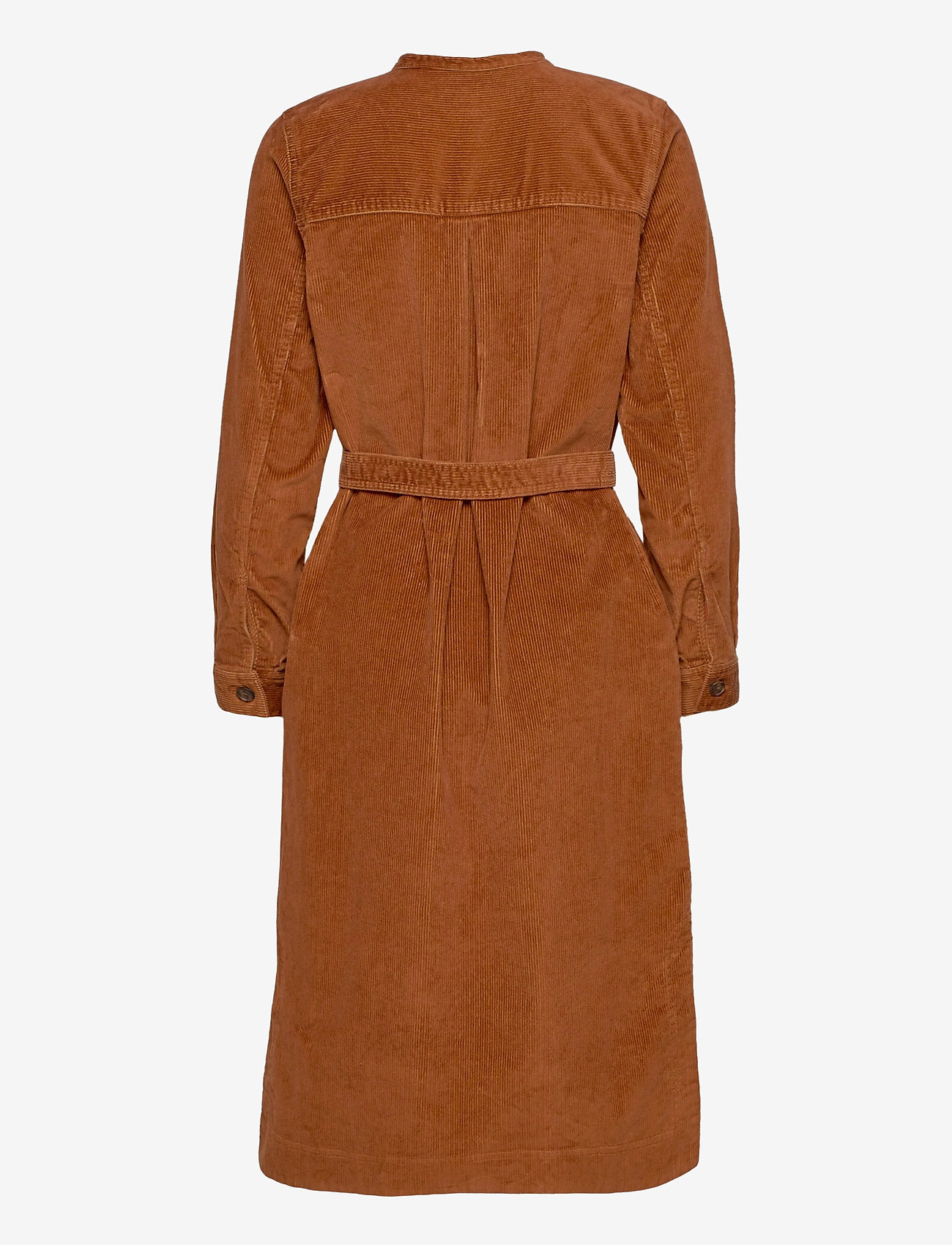 GAP - LS CORD SHIRTDRESS - everyday dresses - chestnut 616 - 1