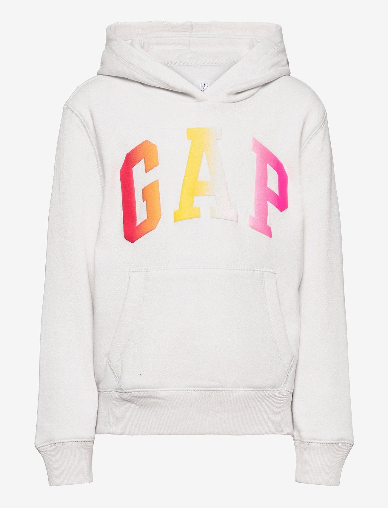 GAP - Kids Gap Logo Hoodie - kapuzenpullover - carls stone - 0
