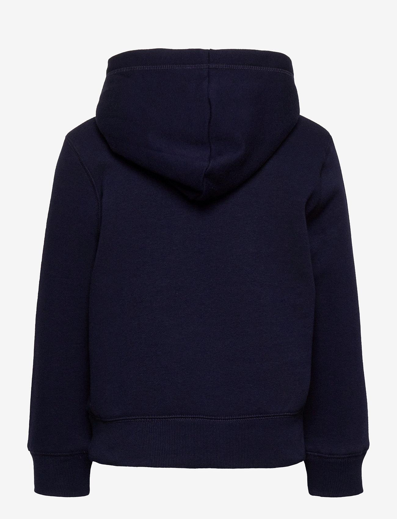 GAP - Kids Gap Logo Hoodie - hoodies - navy uniform - 1