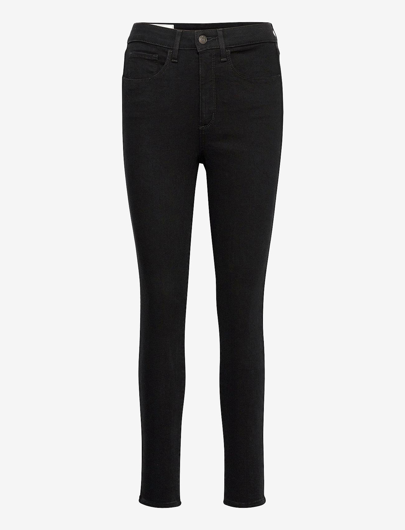 GAP - High Rise Universal Jegging with Secret Smoothing Pockets - slim jeans - black rinse - 0