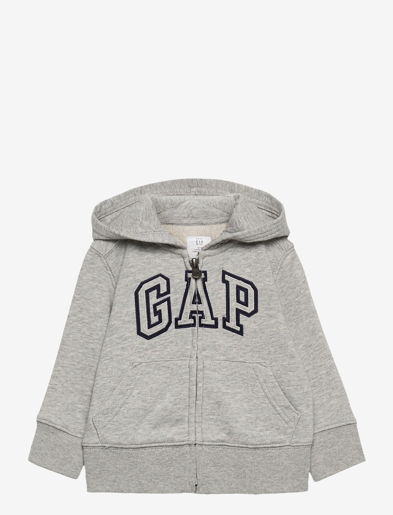 GAP - FZ FT LOGO REFRESH - kapuzenpullover - light heather grey b08 - 0