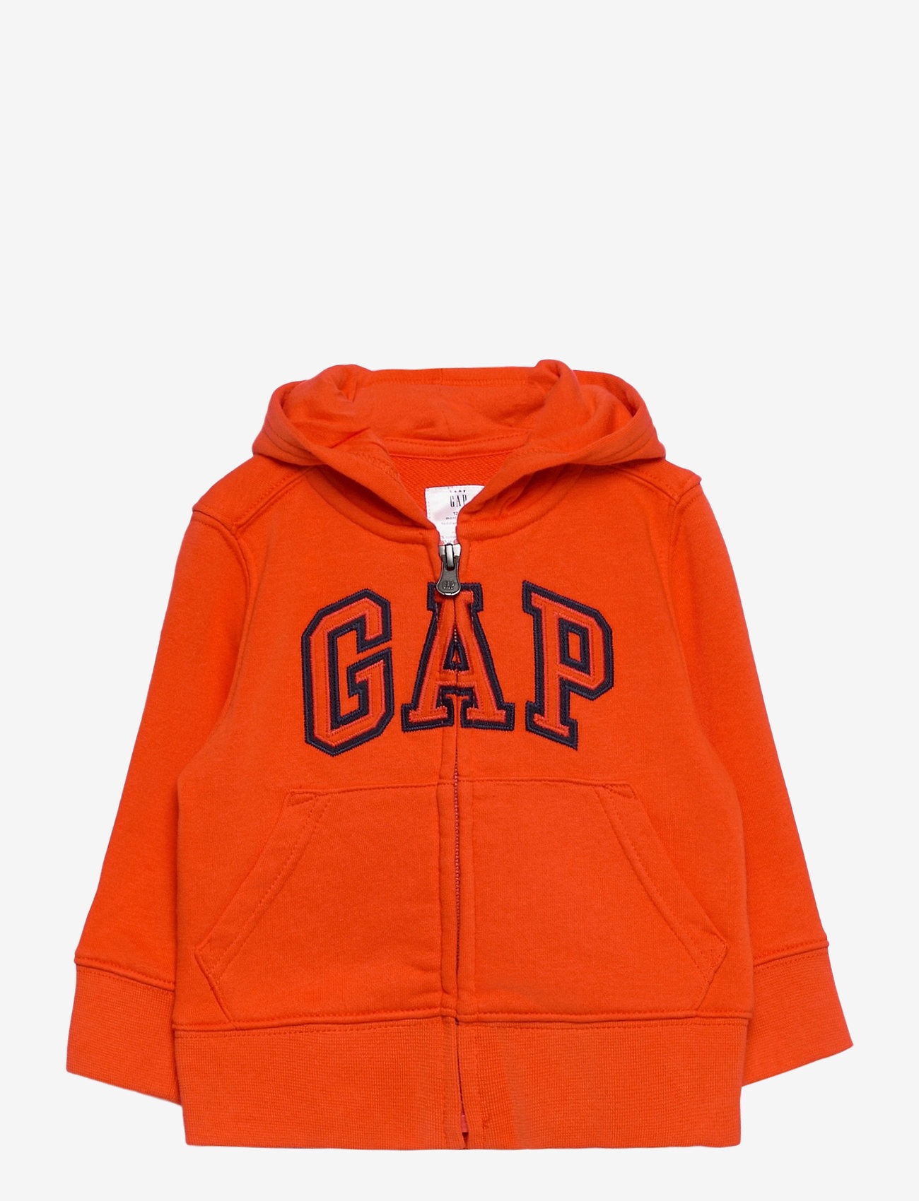 GAP - FZ FT LOGO REFRESH - kapuzenpullover - orange pop - 0