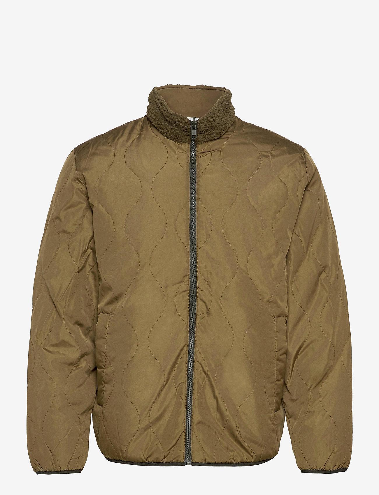 GAP - Reversible Fleece Jacket - basic-sweatshirts - ripe olive - 0