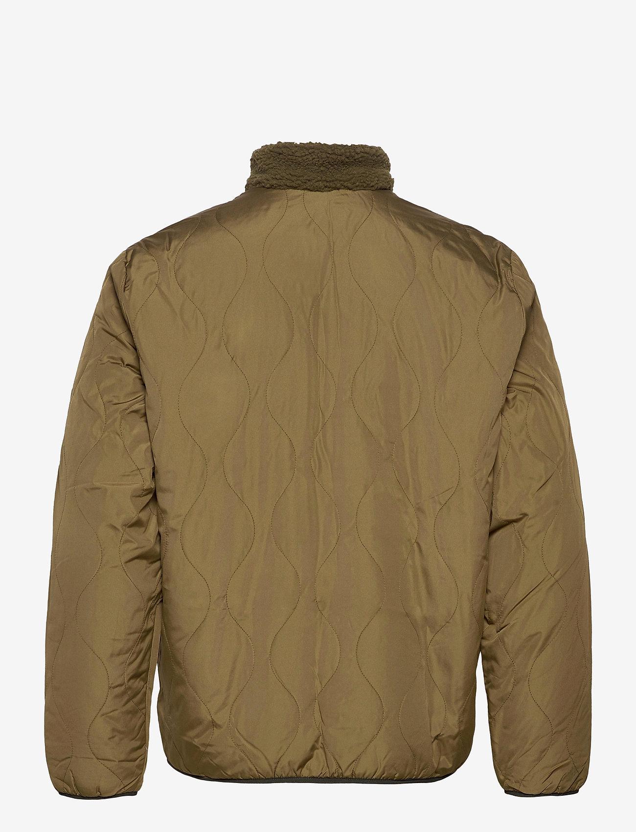 GAP - Reversible Fleece Jacket - basic-sweatshirts - ripe olive - 1
