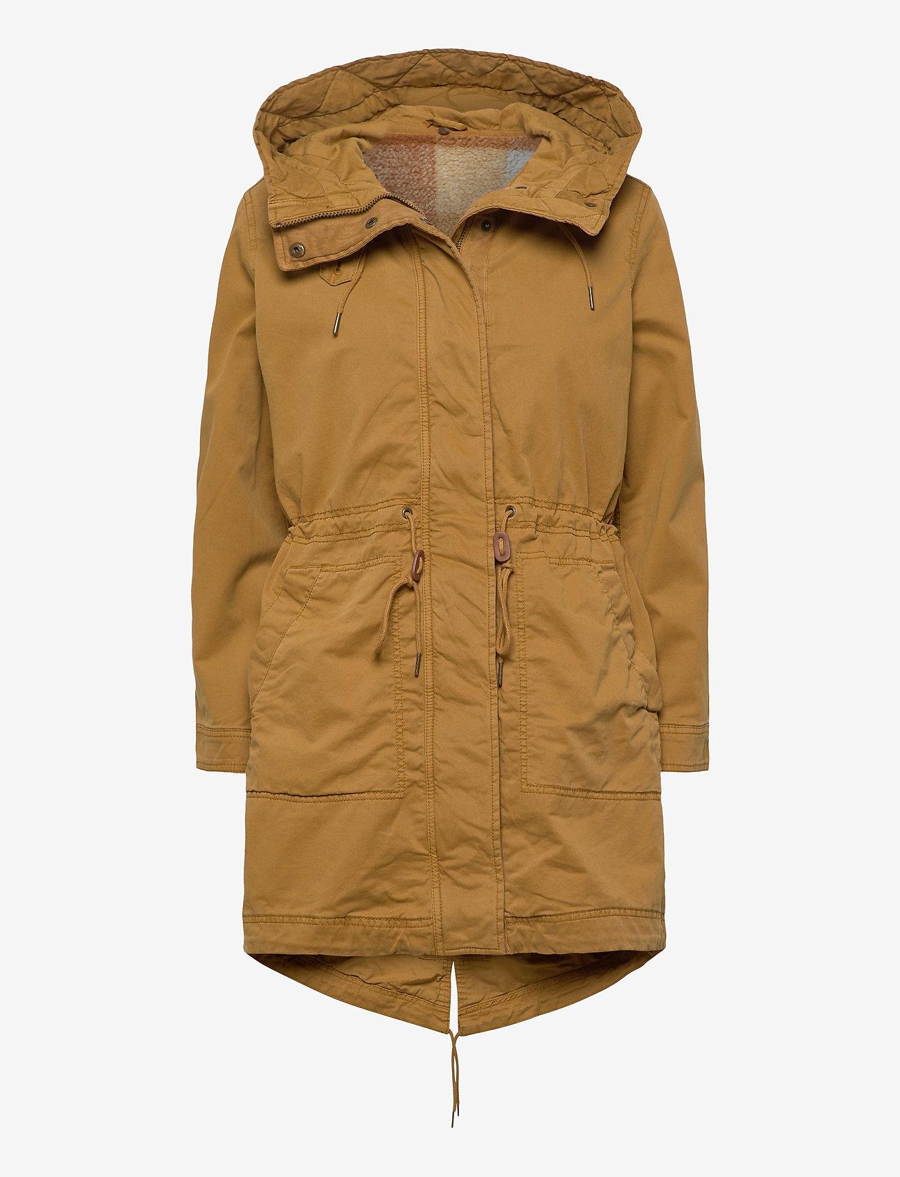 GAP - Utility Parka Jacket - parka coats - ochre - 0