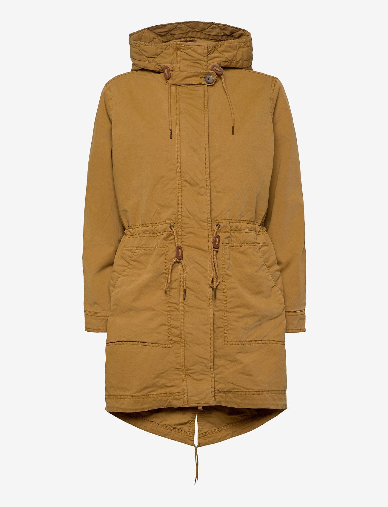 GAP - Utility Parka Jacket - parka coats - ochre - 1