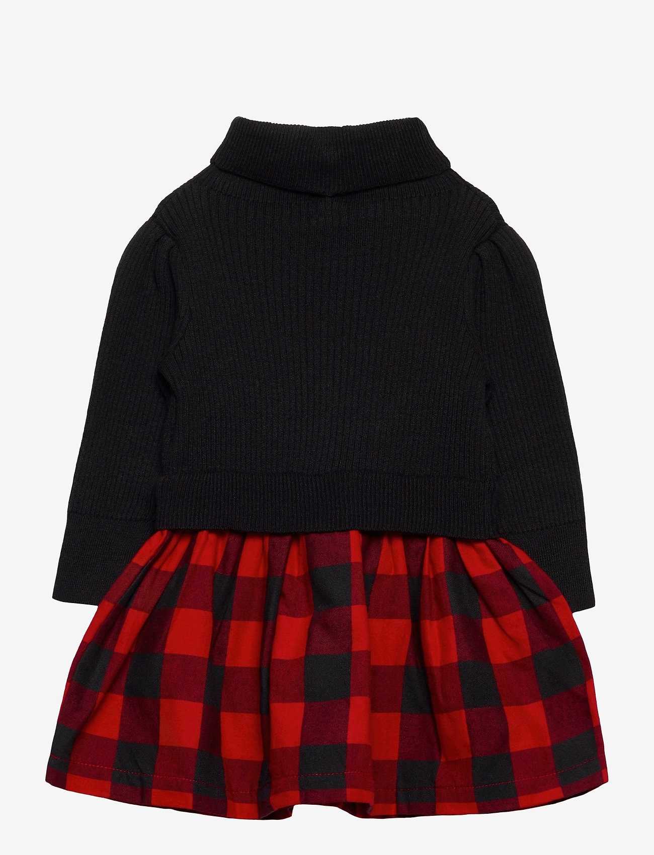 GAP - Toddler Mix-Media Dress - kleider - buffalo plaid - 1