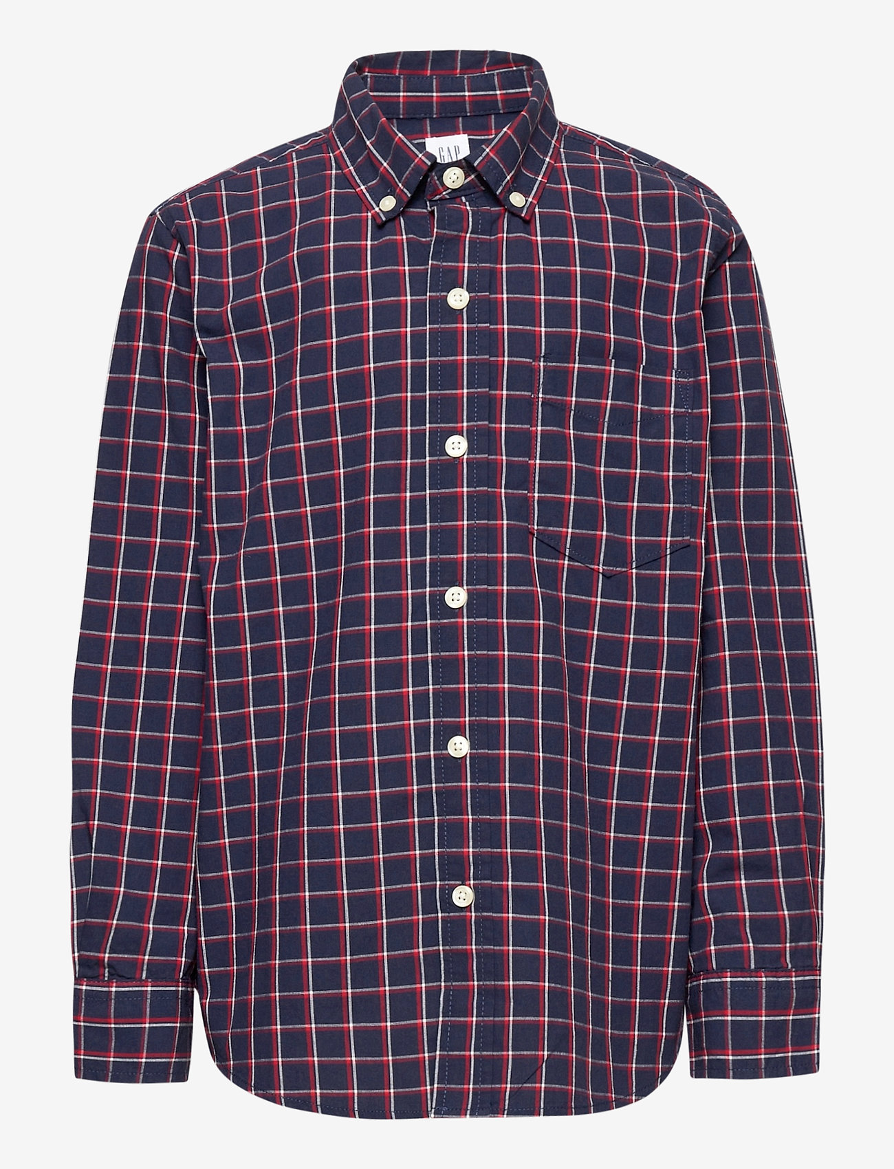 GAP - Kids Plaid Button-Up Shirt - overhemden - tapestry navy - 0