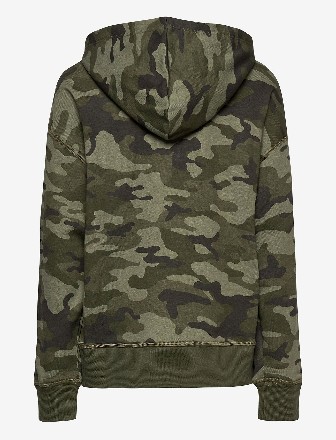 GAP - FT INTL ARCH PO HD - kapuzenpullover - green camo - 1