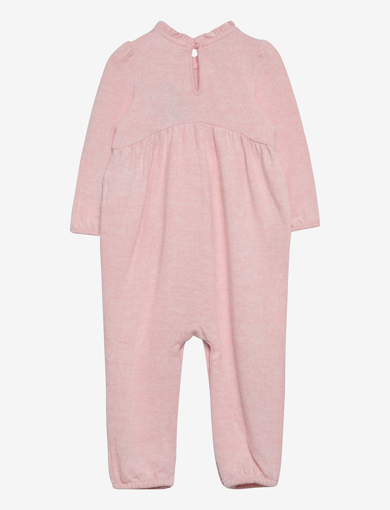 GAP - Baby Knit Ruffle One-Piece - langärmelig - pink heather - 1