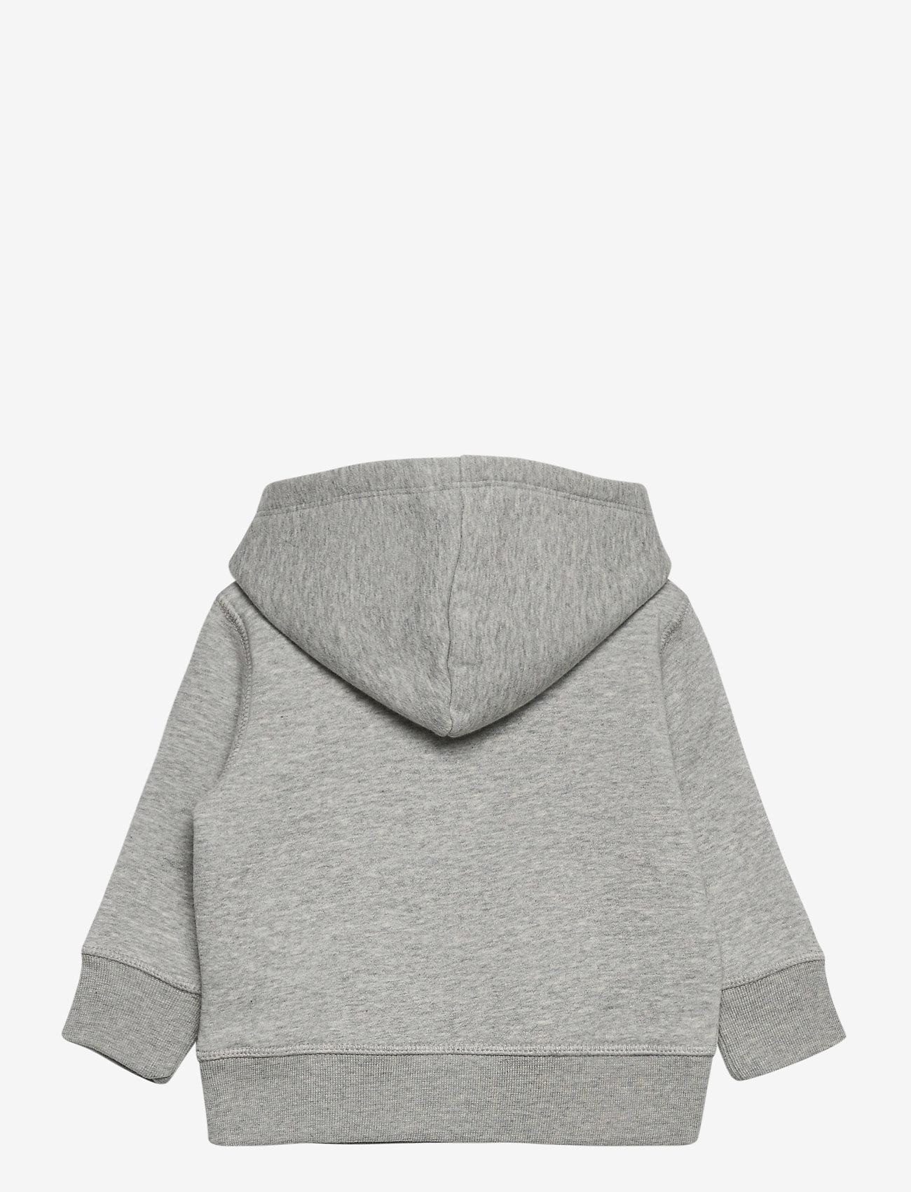 GAP - FR PO LOGO REFRESH - hoodies - light heather grey v6 - 1