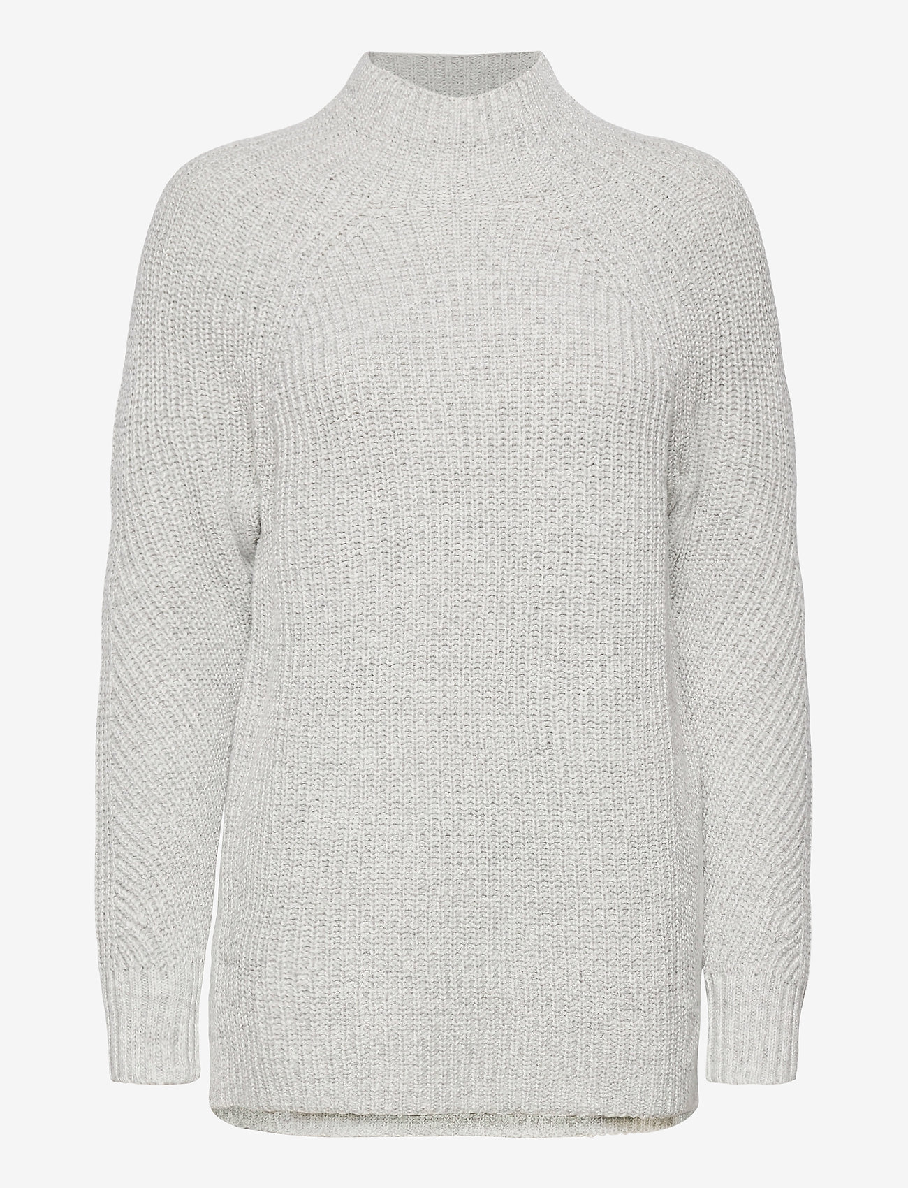 GAP - Mockneck Tunic Sweater - turtlenecks - light heather grey - 0