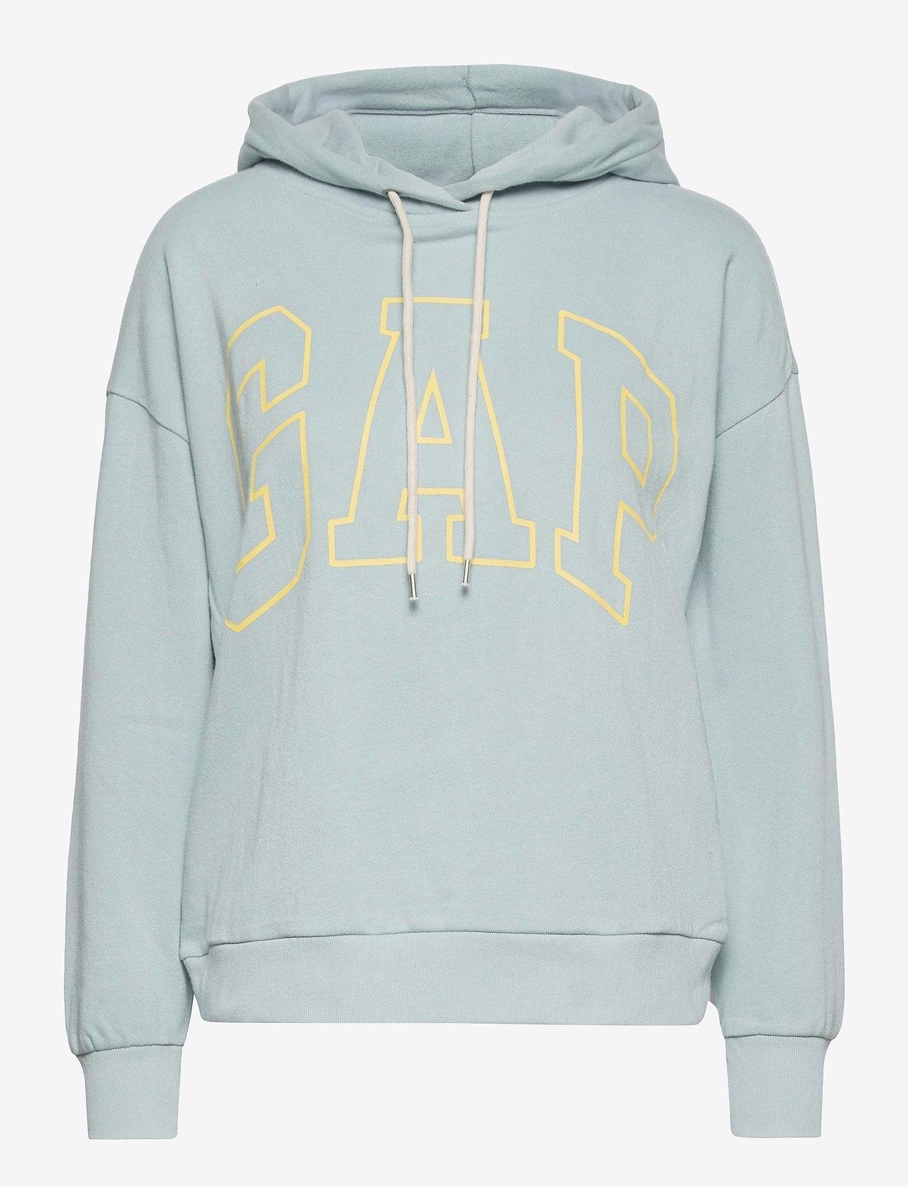 GAP - Gap Logo Easy Hoodie - hoodies - blue fair - 0