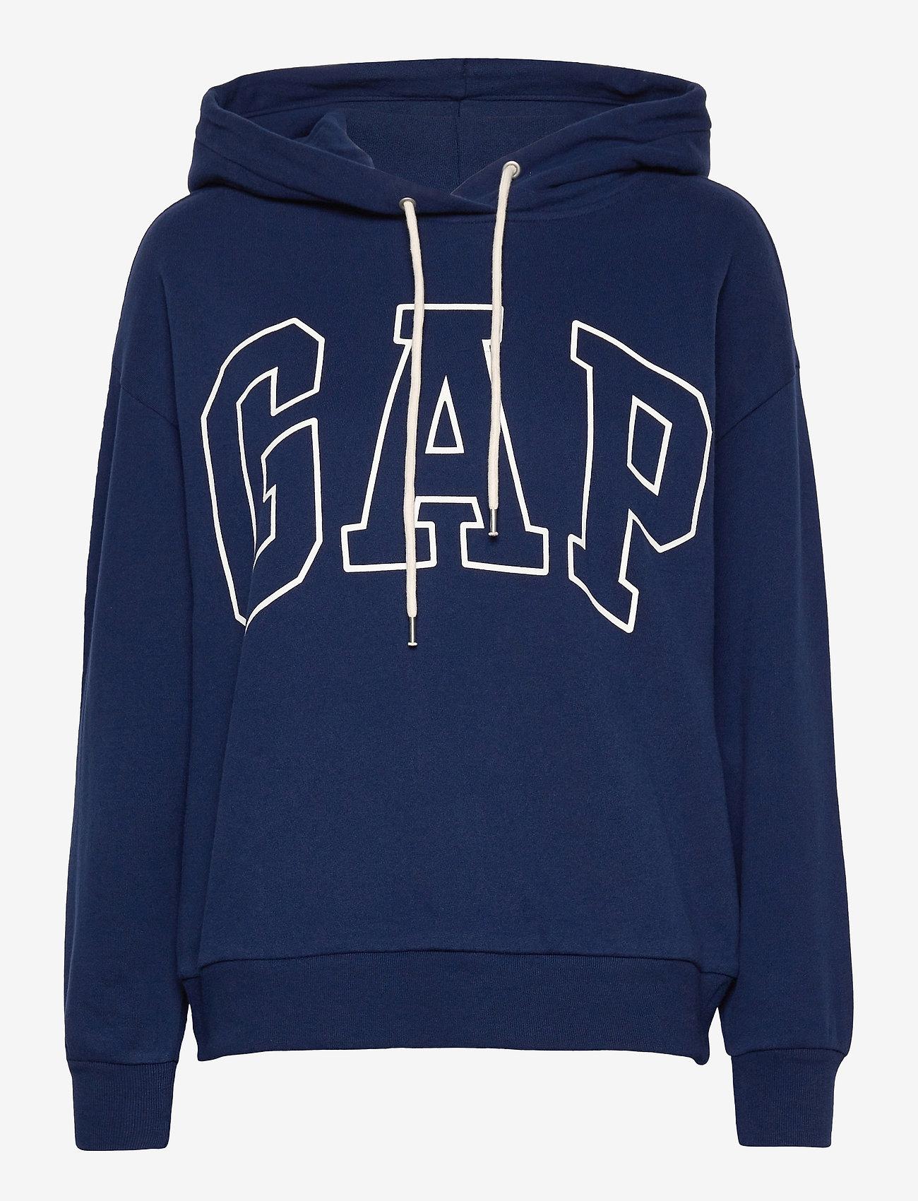 GAP - Gap Logo Easy Hoodie - hoodies - elysian blue - 0