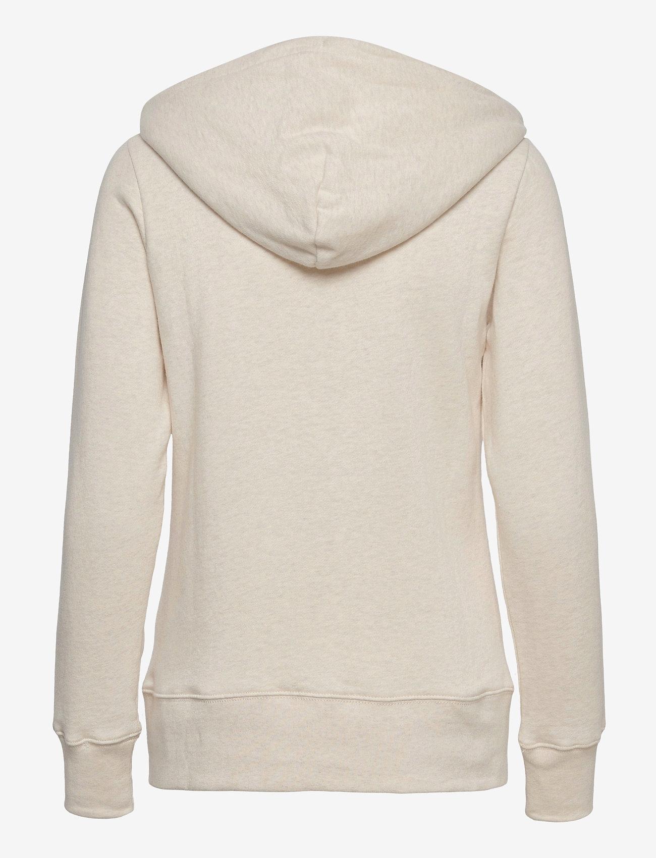 GAP - Gap Logo Easy Hoodie - hoodies - oatmeal heather - 1