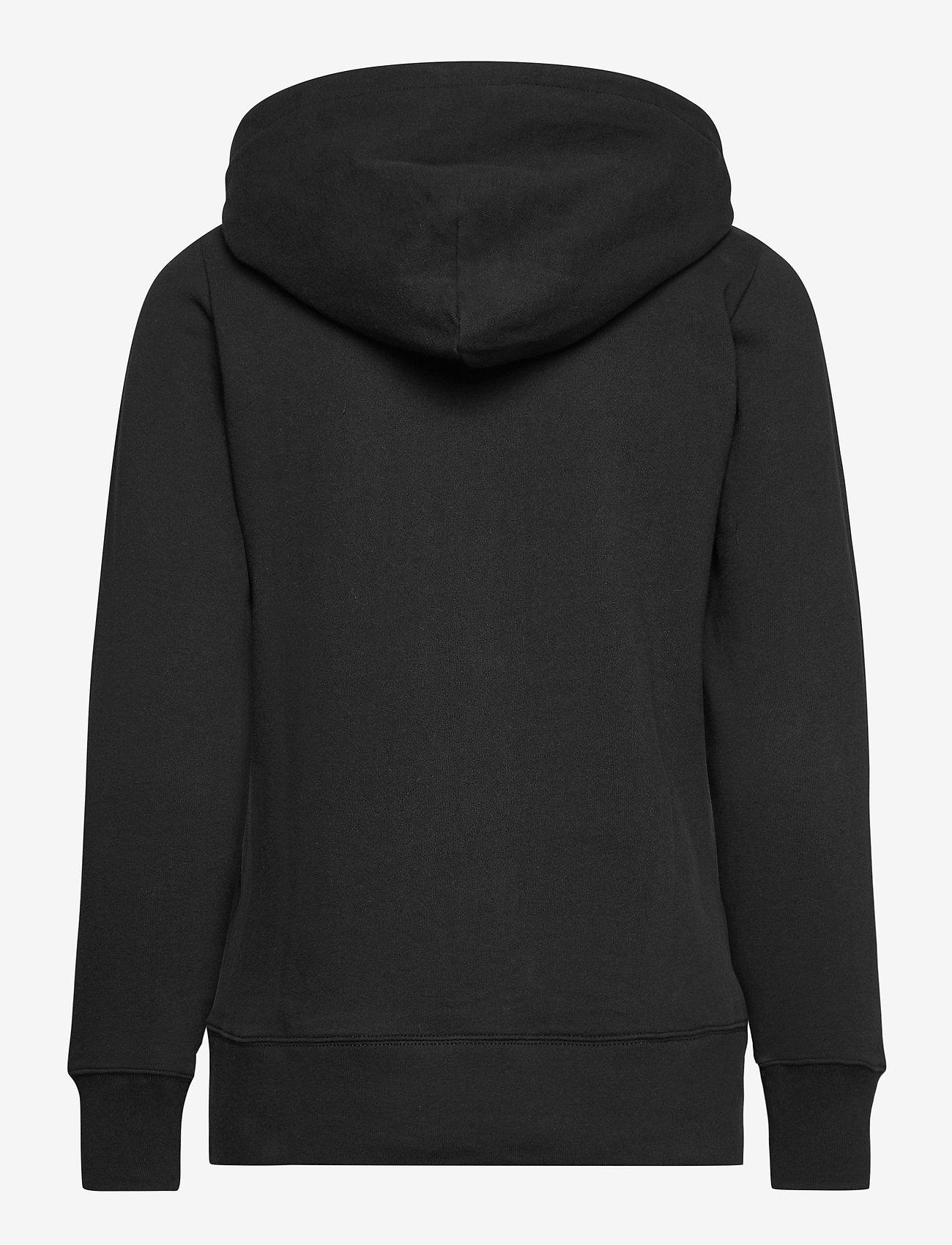 GAP - Gap Logo Easy Hoodie - hoodies - true black - 1