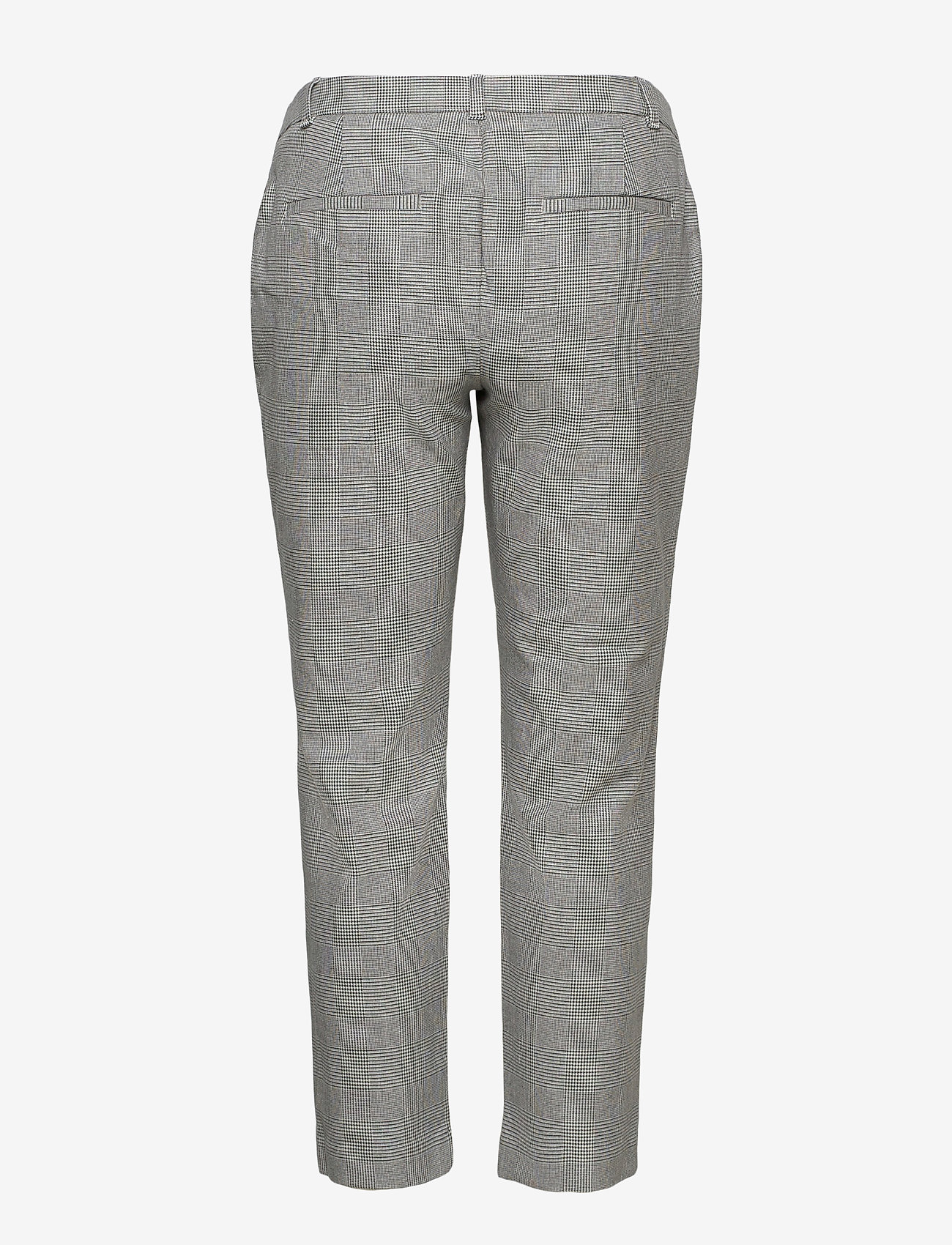 GAP - Maternity Inset Panel Slim Ankle Pants - slim fit trousers - grey plaid - 1