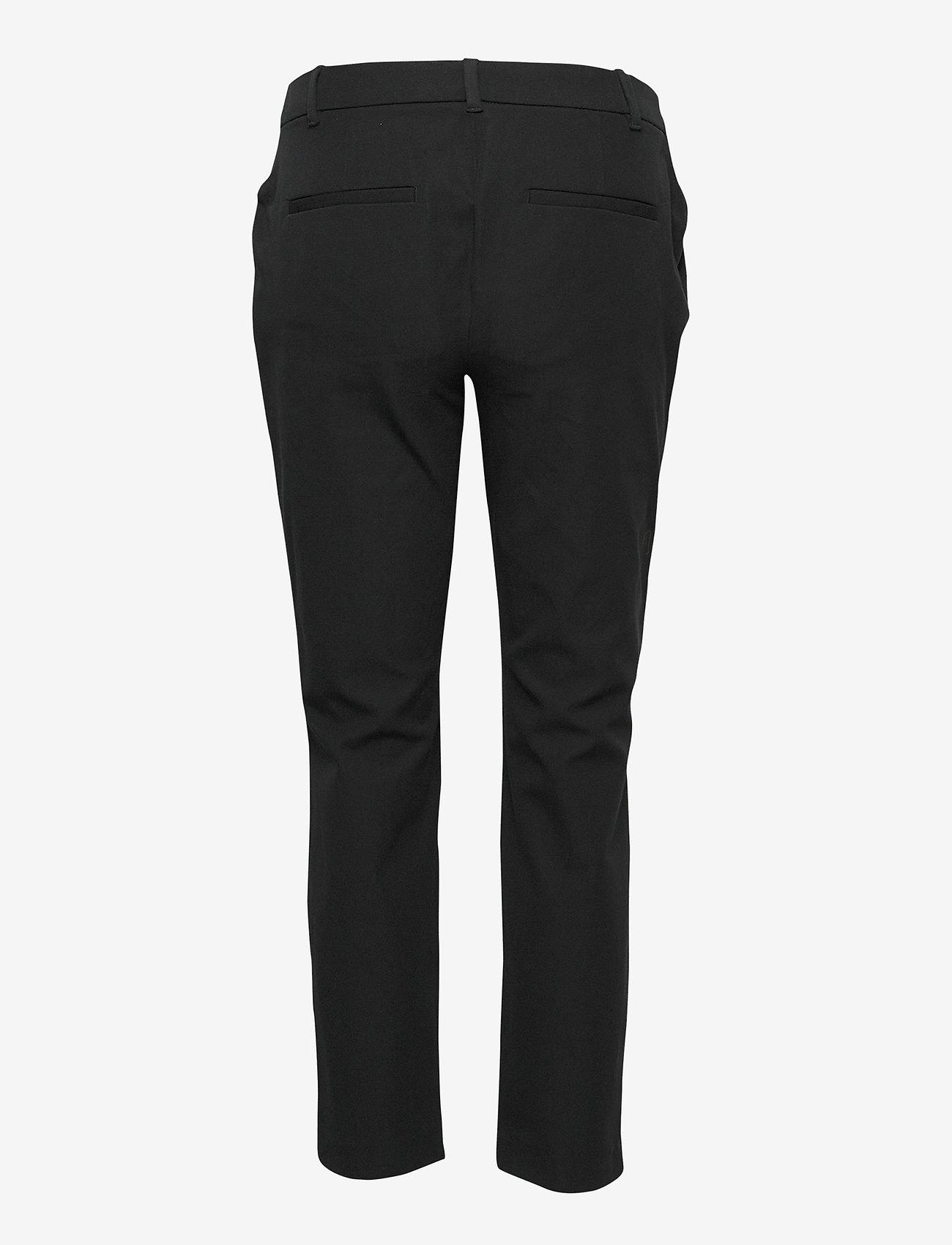 GAP - Maternity Inset Panel Slim Ankle Pants - slim fit trousers - true black v2 - 1