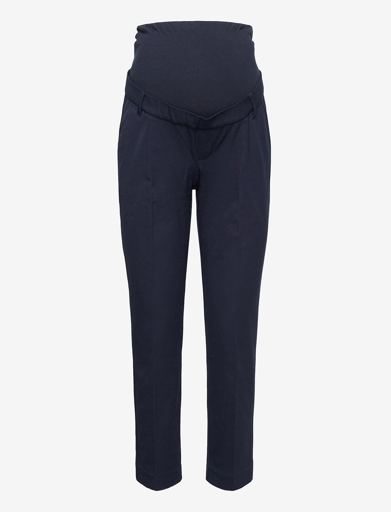GAP - Maternity True Waistband Full Panel Slim Ankle Pants - slim fit trousers - true navy v2 - 0