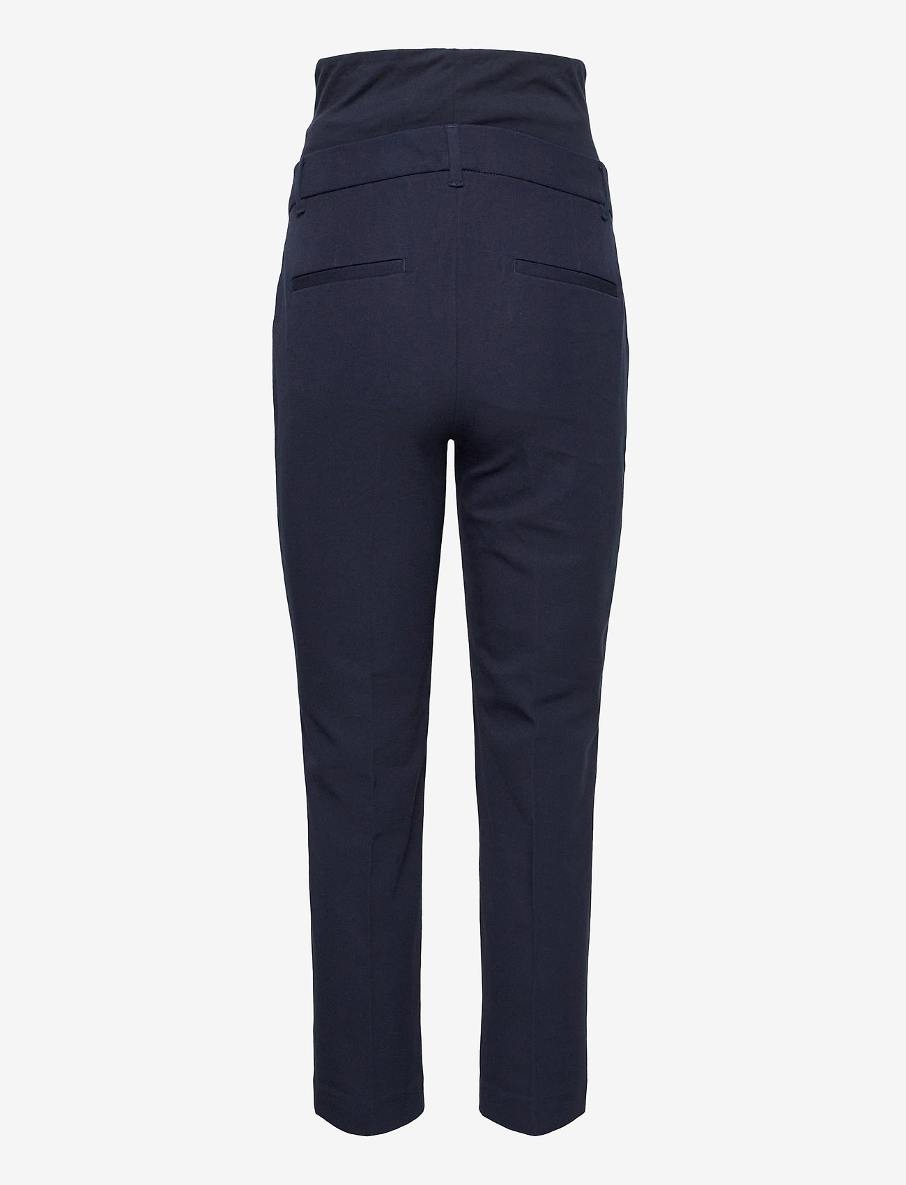 GAP - Maternity True Waistband Full Panel Slim Ankle Pants - slim fit trousers - true navy v2 - 1