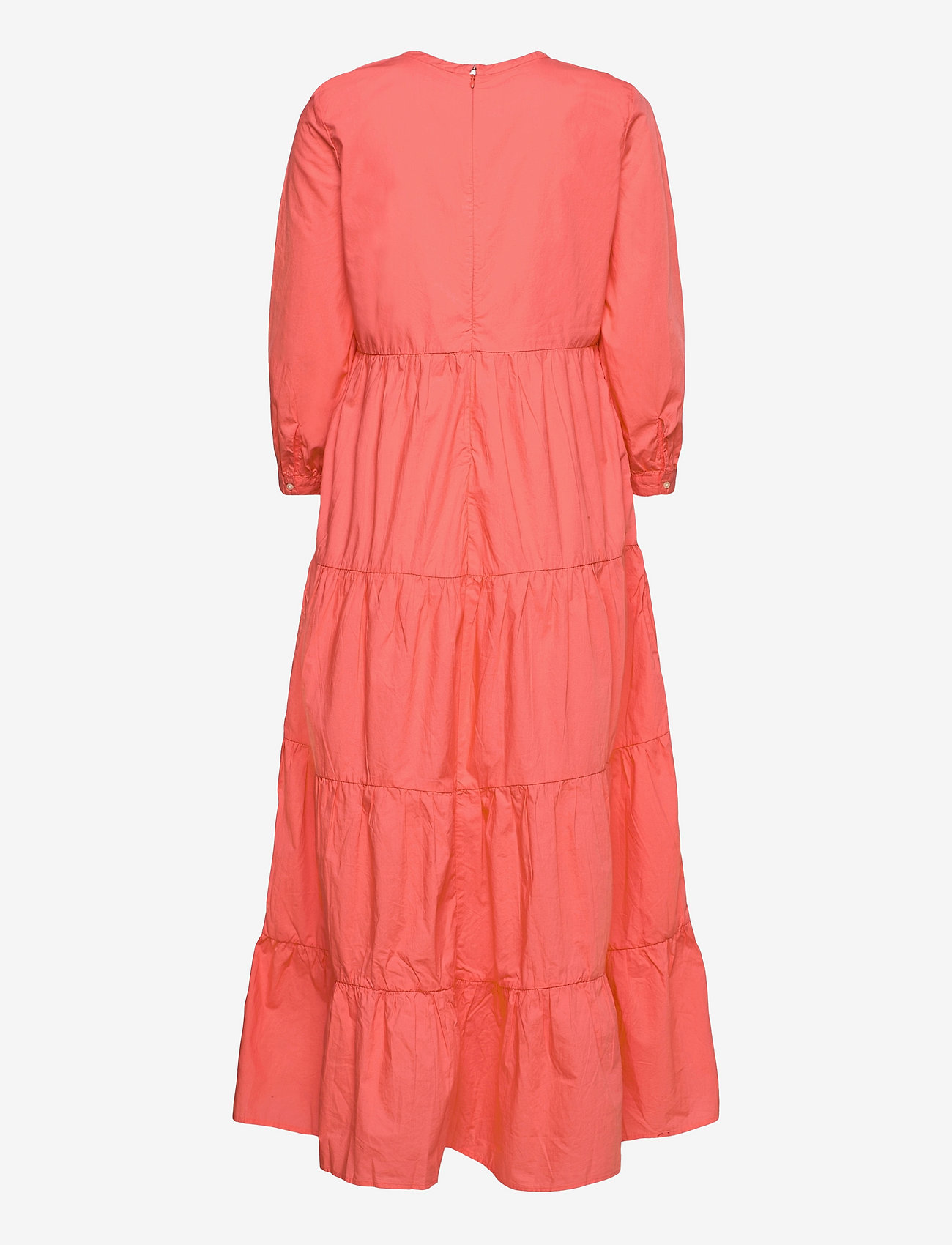 GAP - Tiered Split-Neck Dress - everyday dresses - pink reef 2 - 1