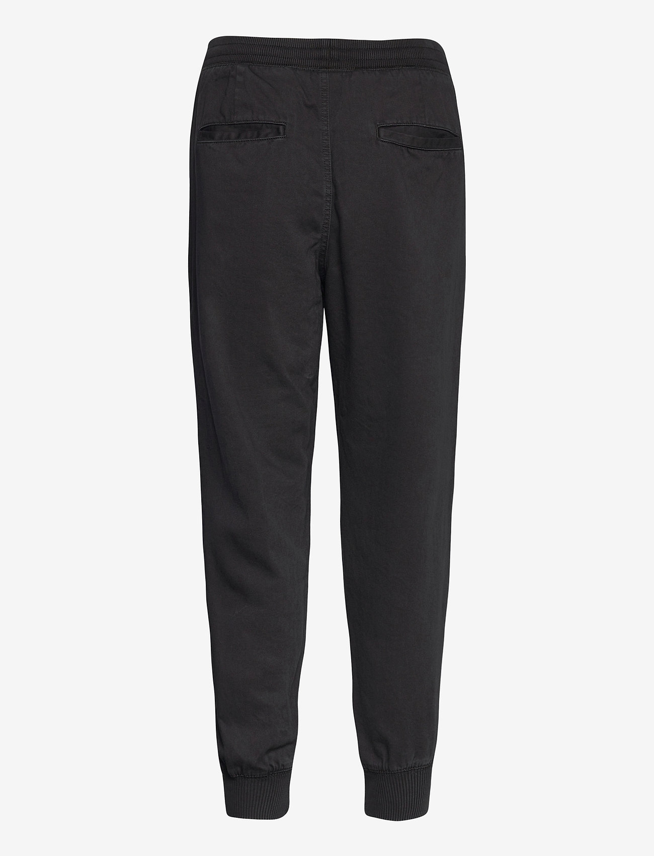 GAP - Soft Woven Joggers - casual trousers - true black - 1