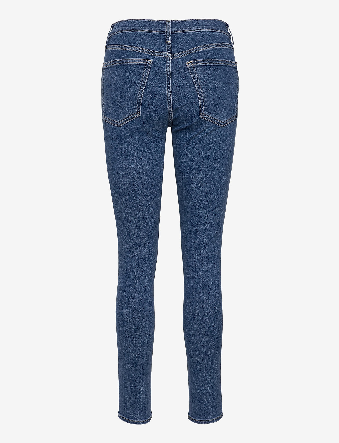 GAP - High Rise True Skinny Jeans with Secret Smoothing Pockets - skinny jeans - medium indigo 8 - 1