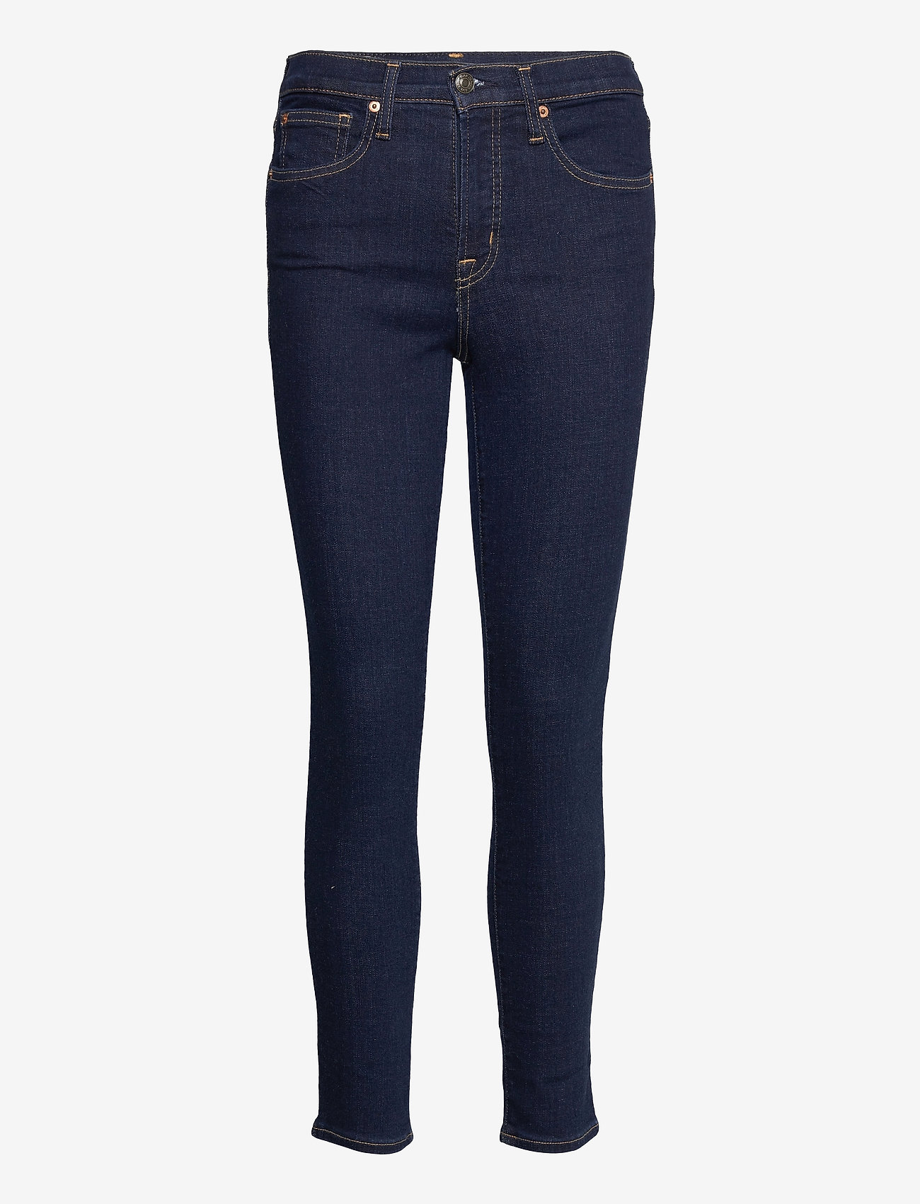 GAP - High Rise True Skinny Jeans with Secret Smoothing Pockets - skinny jeans - rinsed - 0