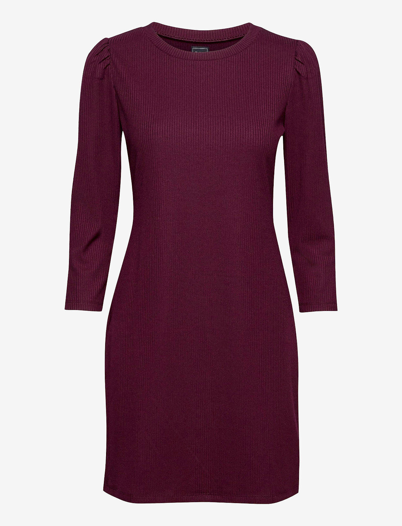 GAP - Ribbed Dress - everyday dresses - secret plum - 0