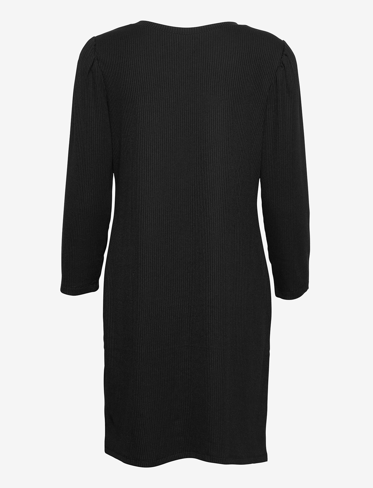 GAP - Ribbed Dress - everyday dresses - true black v2 - 1