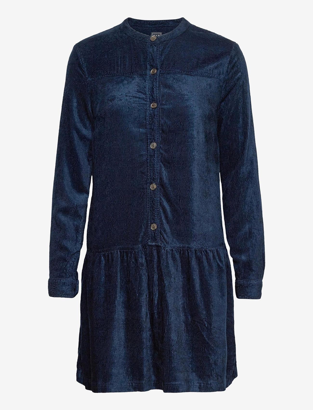 GAP - Corduroy Shirtdress - alledaagse jurken - night - 0